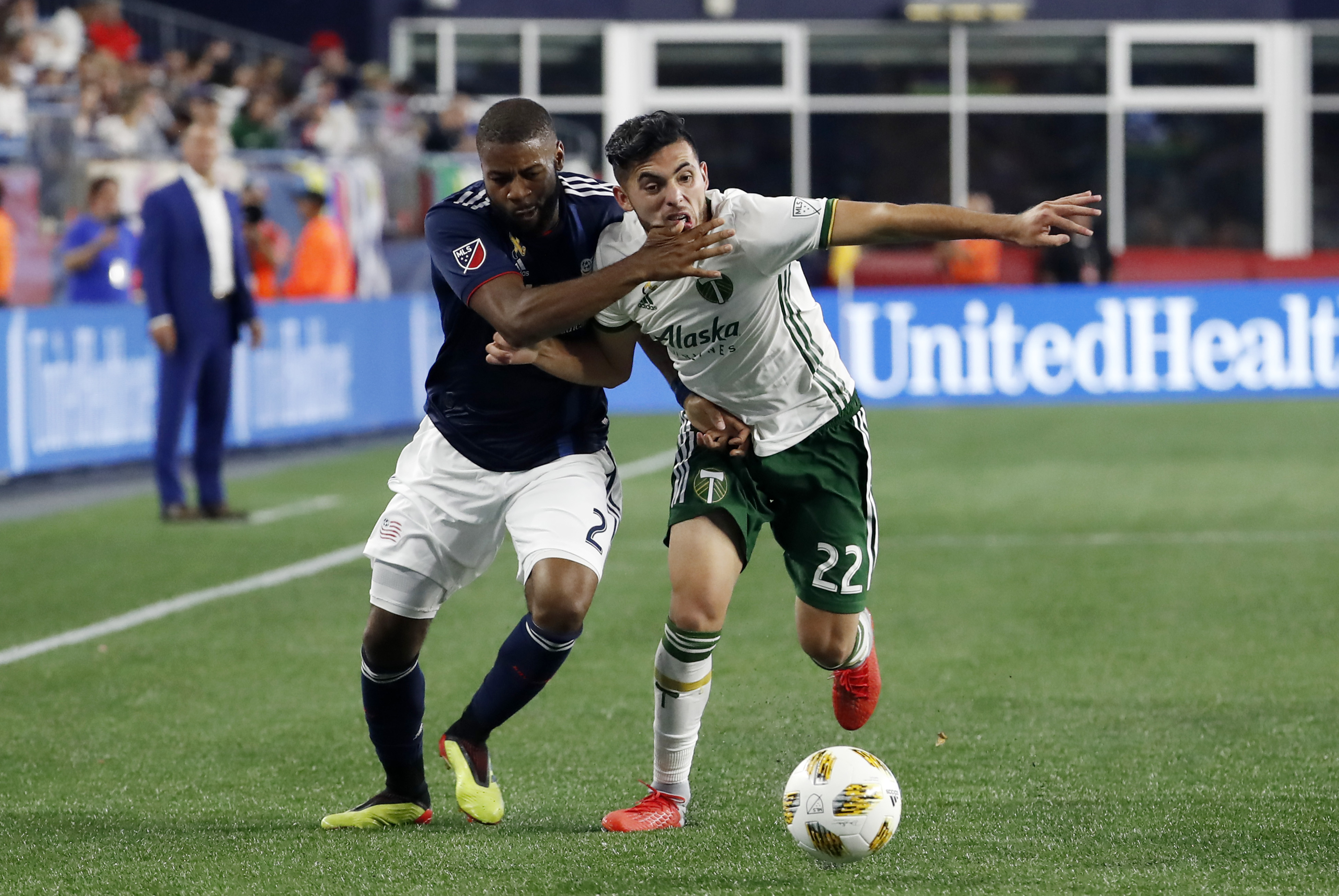 SOCCER: SEP 01 MLS - Portland Timbers at New England Revolution