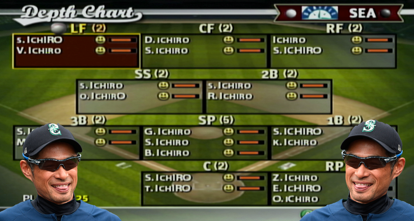 Can a team of 25 Ichiros win the World Series?