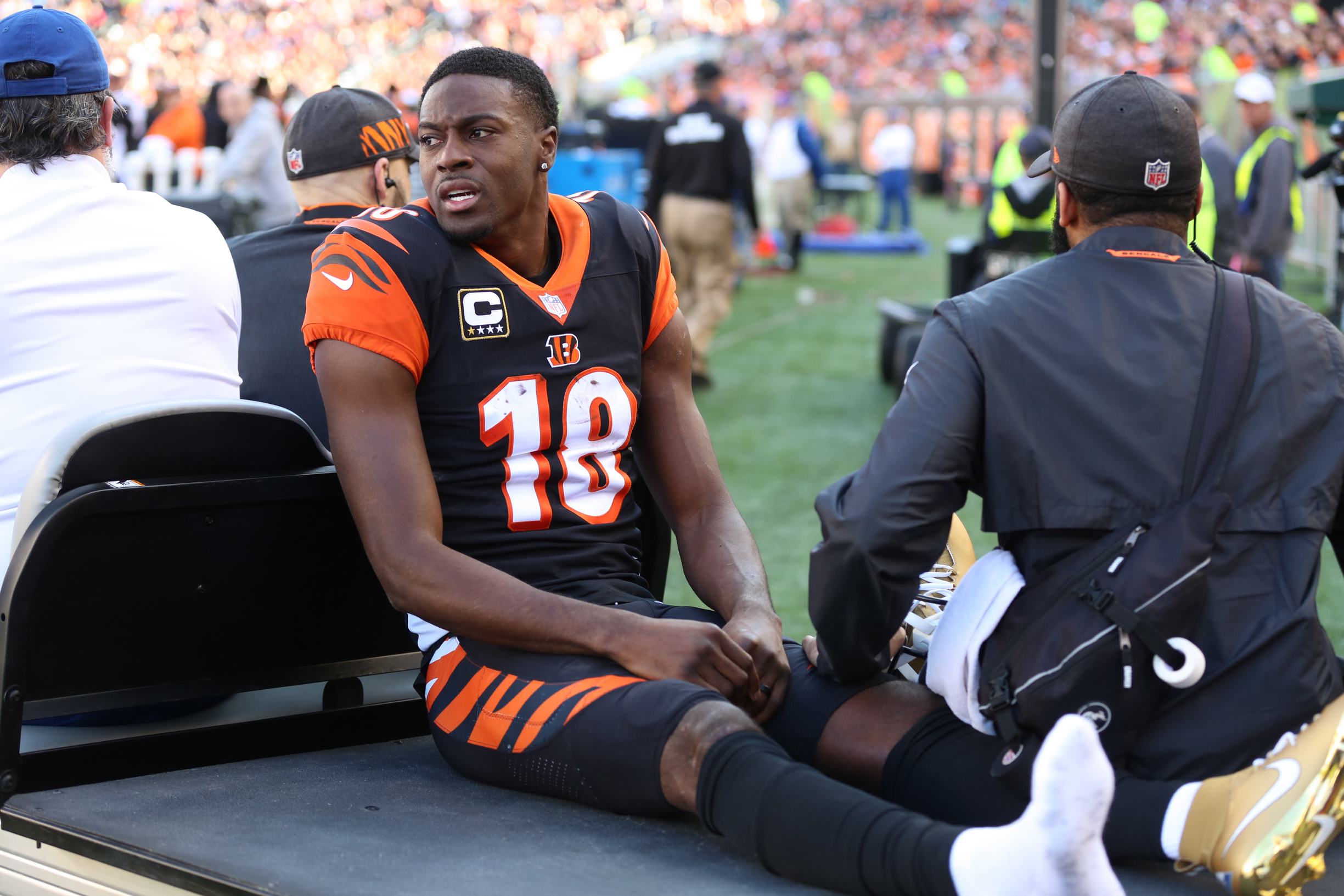 NFL: DEC 02 Broncos at Bengals