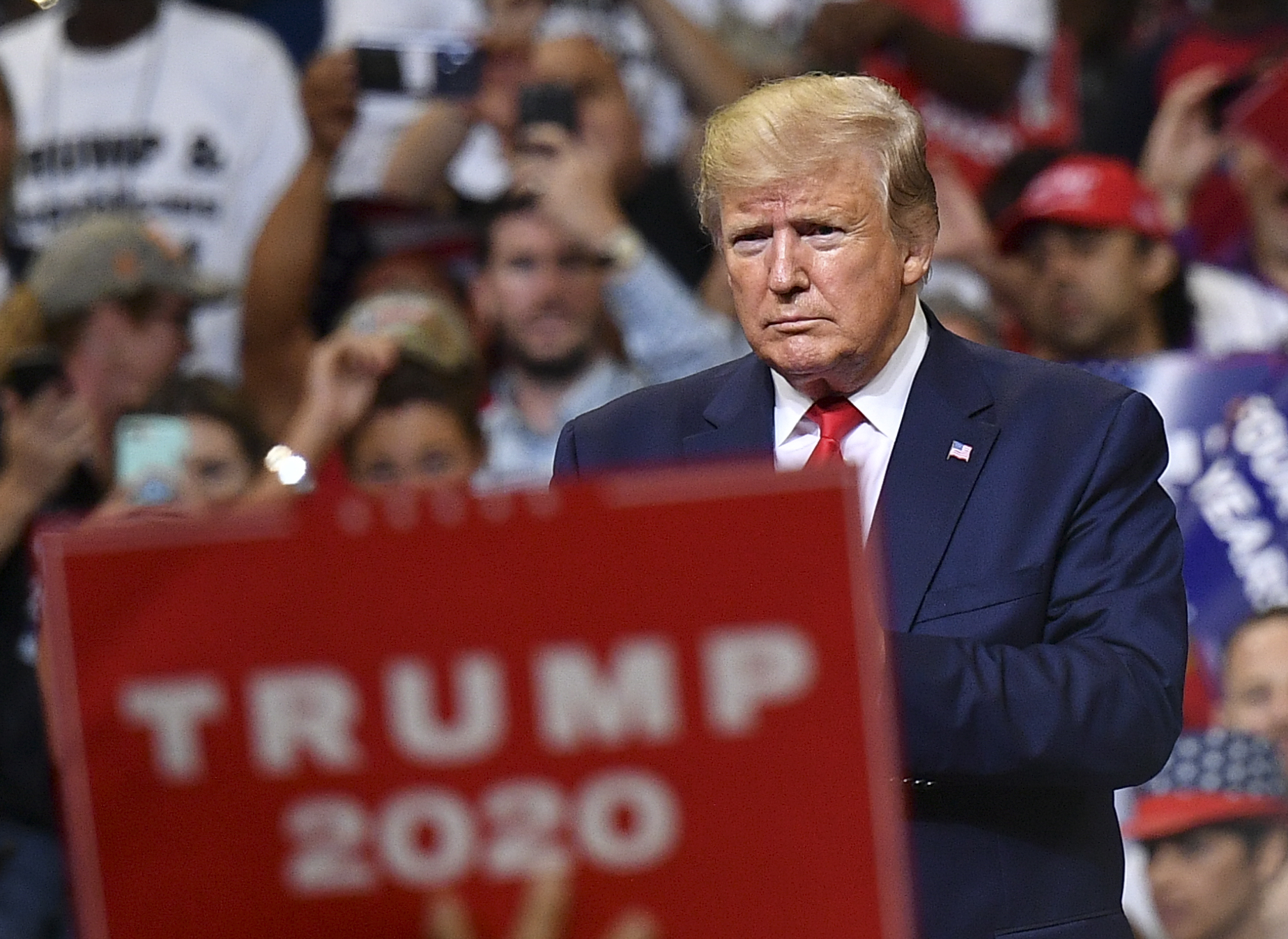 Trump files lawsuit against California election law that