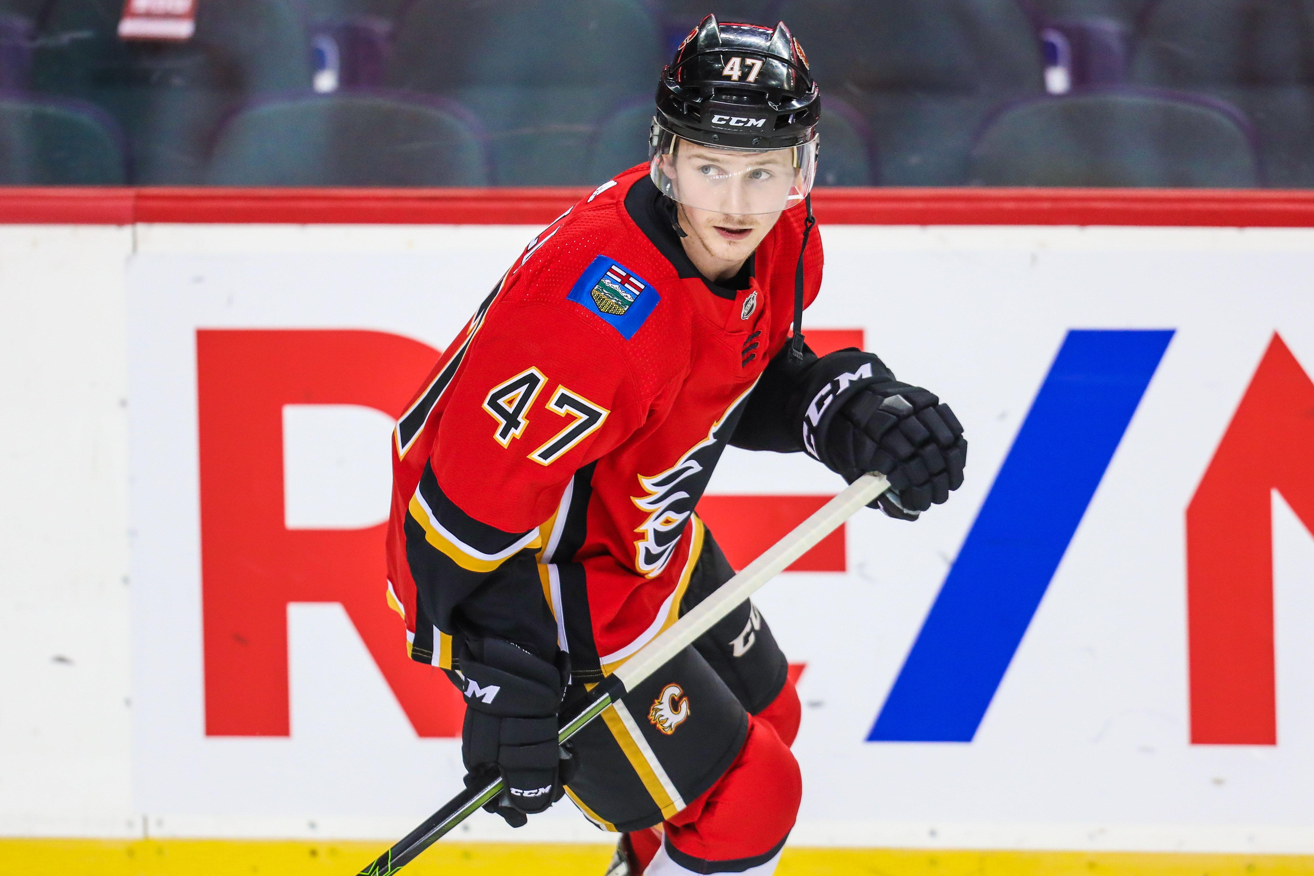 NHL: Preseason-San Jose Sharks at Calgary Flames
