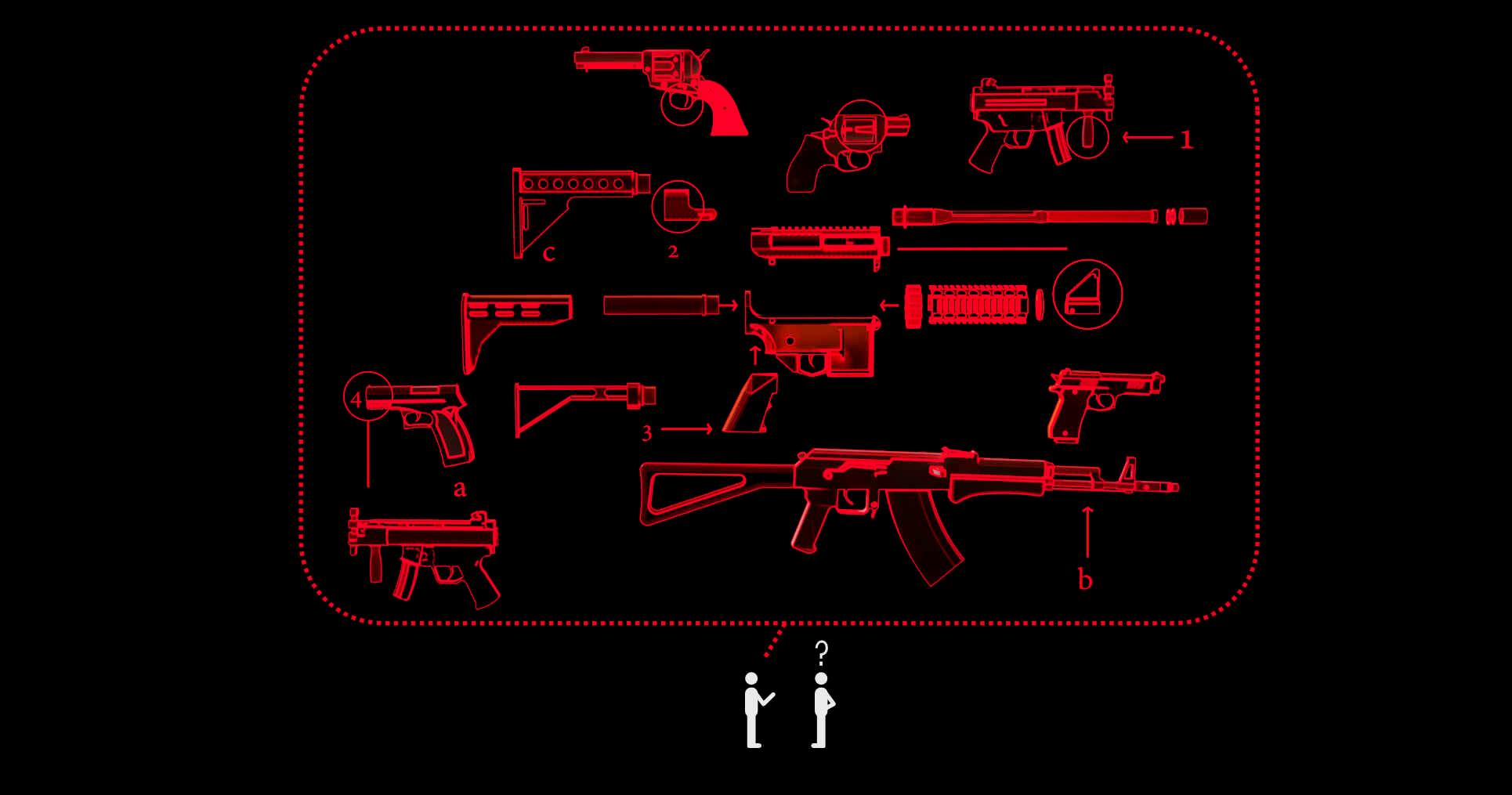 Caliber, cartridges, and bump stocks: guns, explained for non-gun people