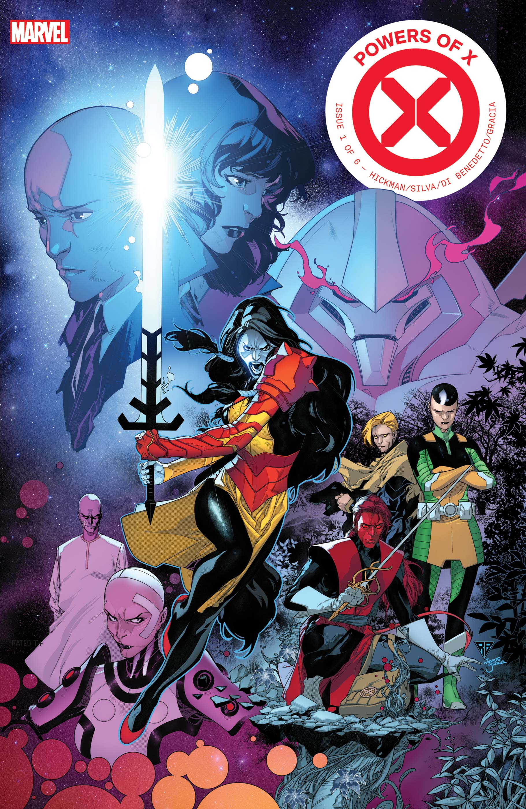 Powers of X #1 writes the X-Men a new history in an absolutely unexpected way