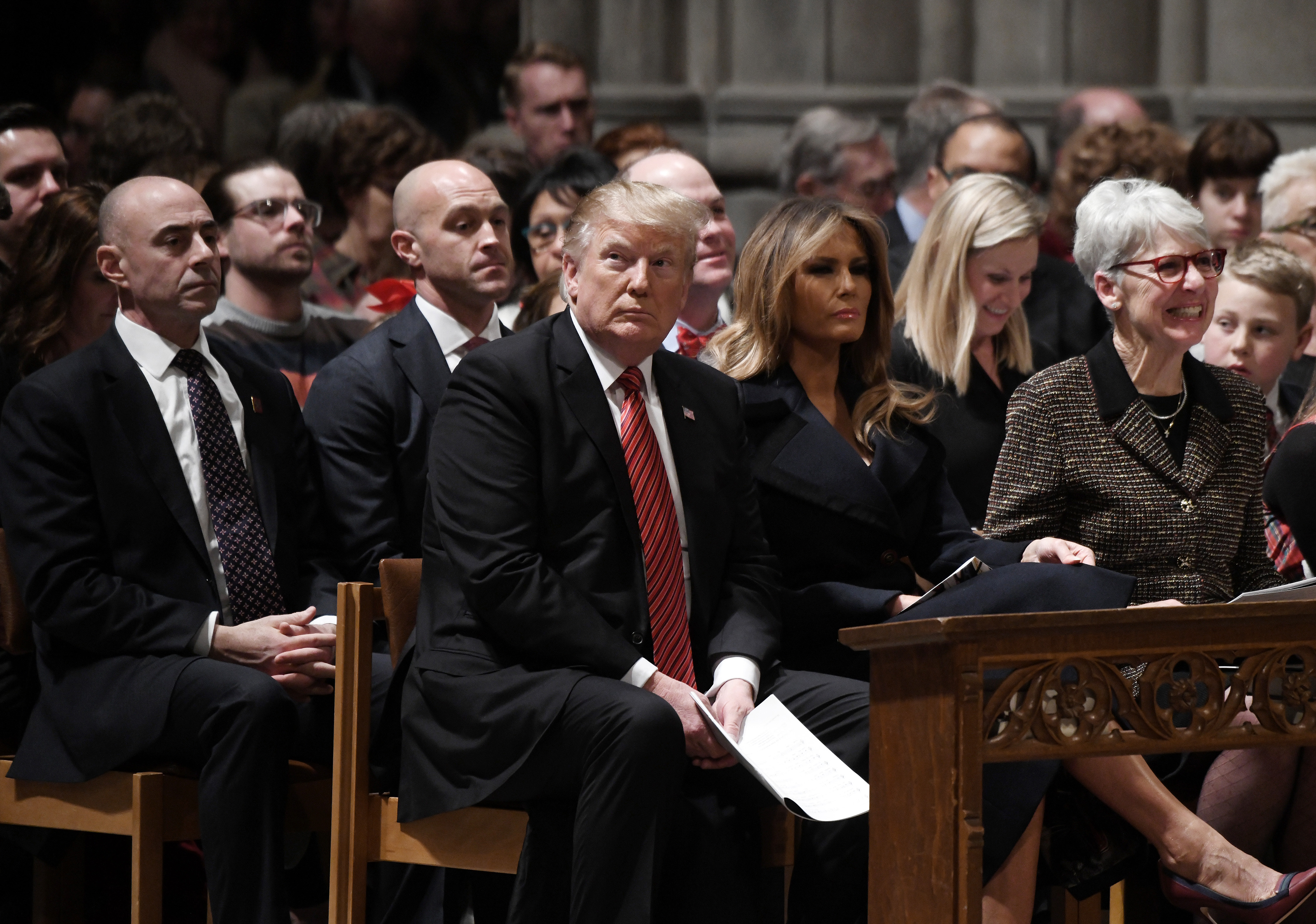 """""""Have We No Decency?"""": National Cathedral questions Americans' silence over Trump's racism"""