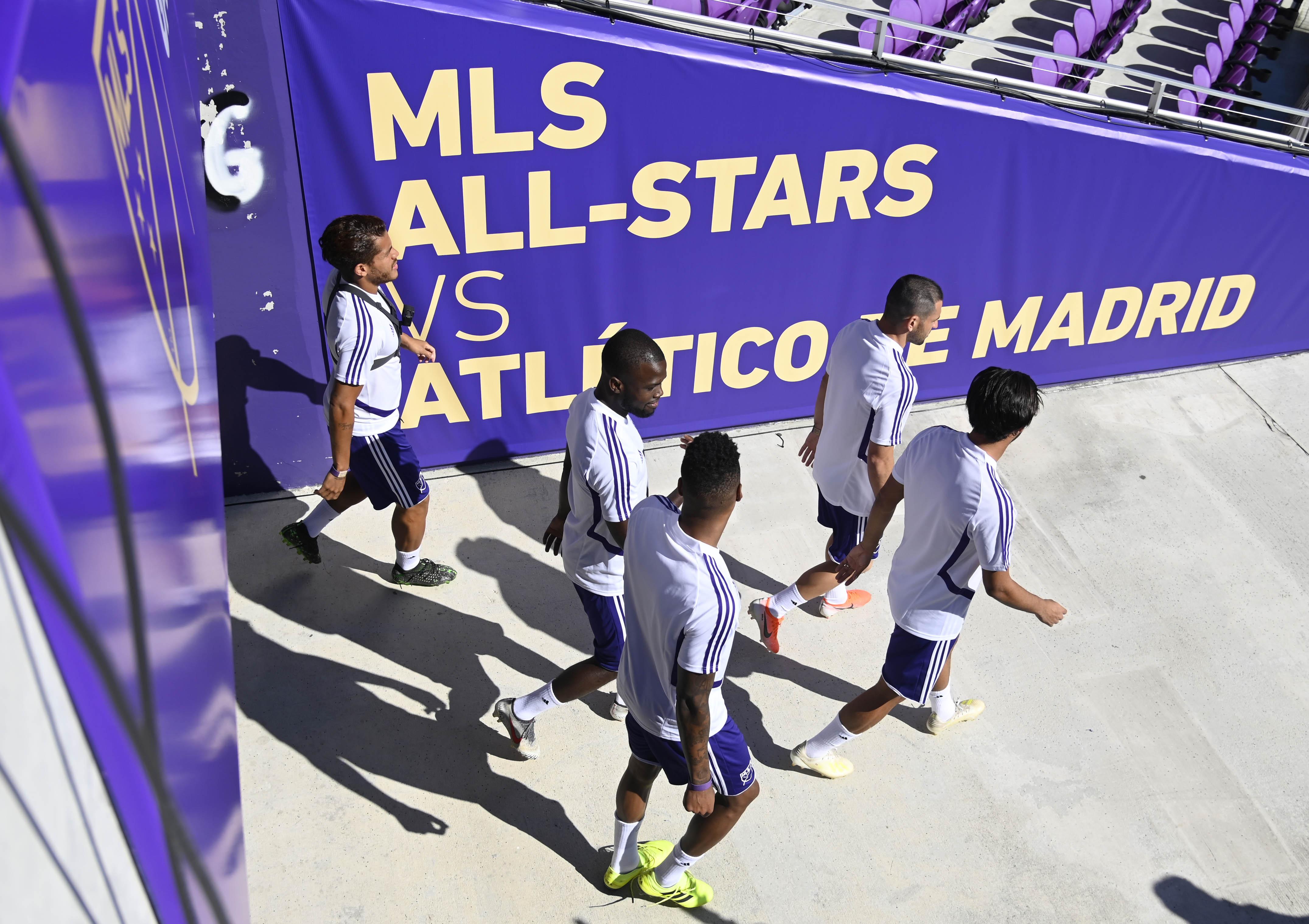MLS: MLS All-Star Game-MLS Team Training