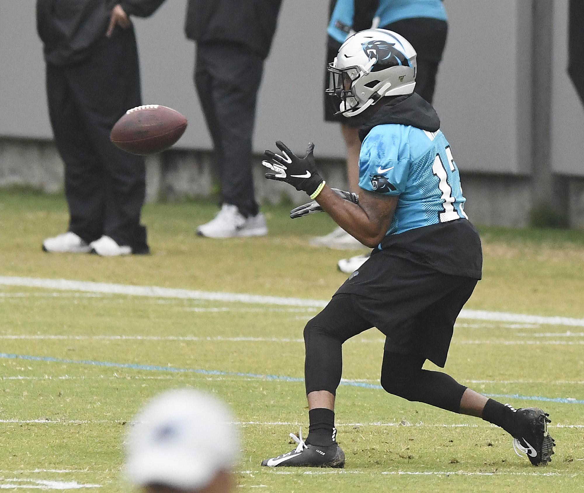 Carolina Panthers OTAs May 22, 2019