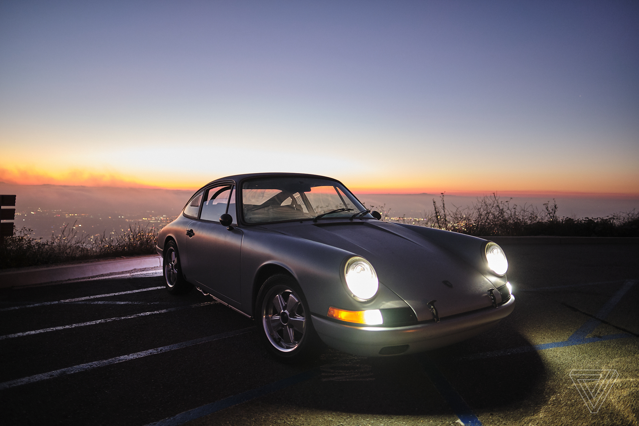 This Tesla-powered Porsche 912 is the new face of vintage