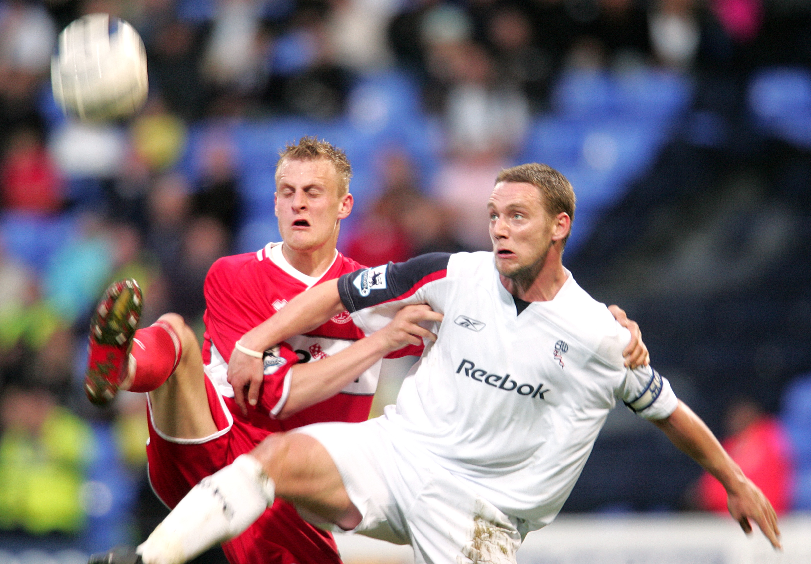 Soccer - FA Barclays Premiership - Bolton Wanderers v Middlesbrough - The Reebok Stadium