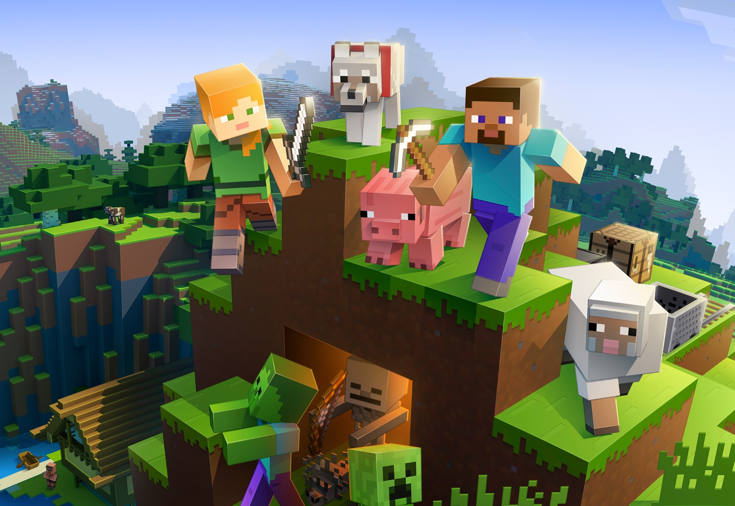 Minecraft is having a big comeback in 2019