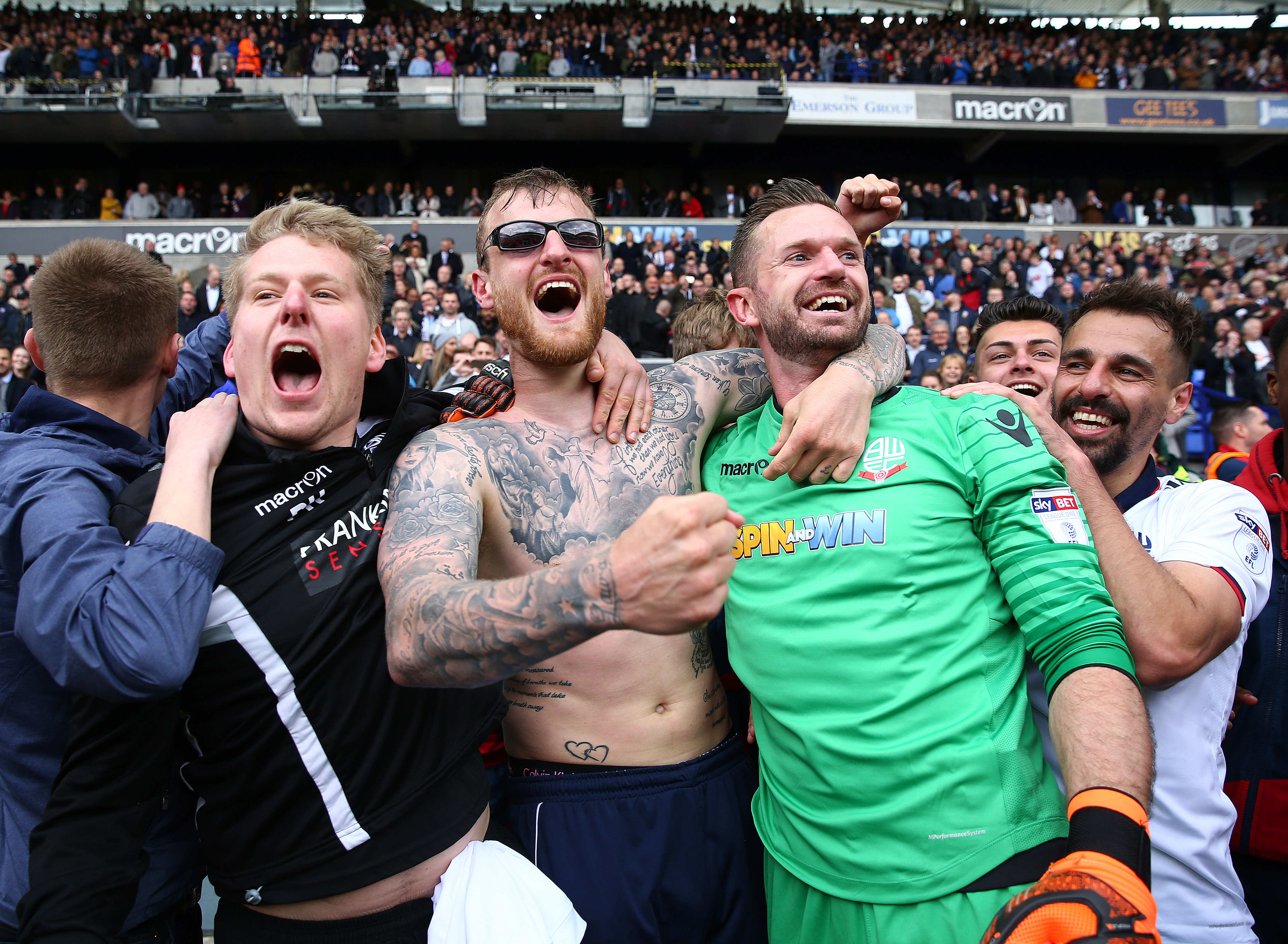 Bolton Wanderers v Peterborough United - Sky Bet League One - Macron Stadium