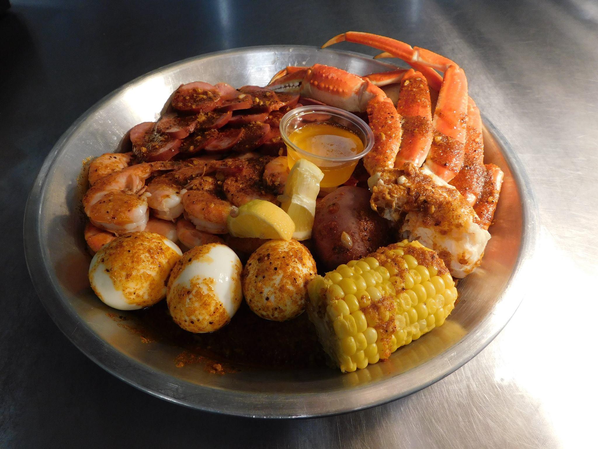 Grab Your Bibs, Louisiana-Style Cajun Seafood Heads to Chinatown