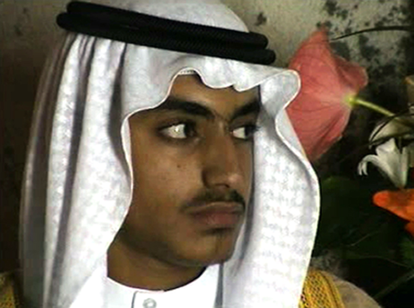 In this image from video released by the CIA, Hamza bin Laden is seen as an adult at his wedding. The never-before-seen video of Osama bin Laden's son and potential successor was released Nov. 1, 2017, by the CIA in a trove of material recovered during th