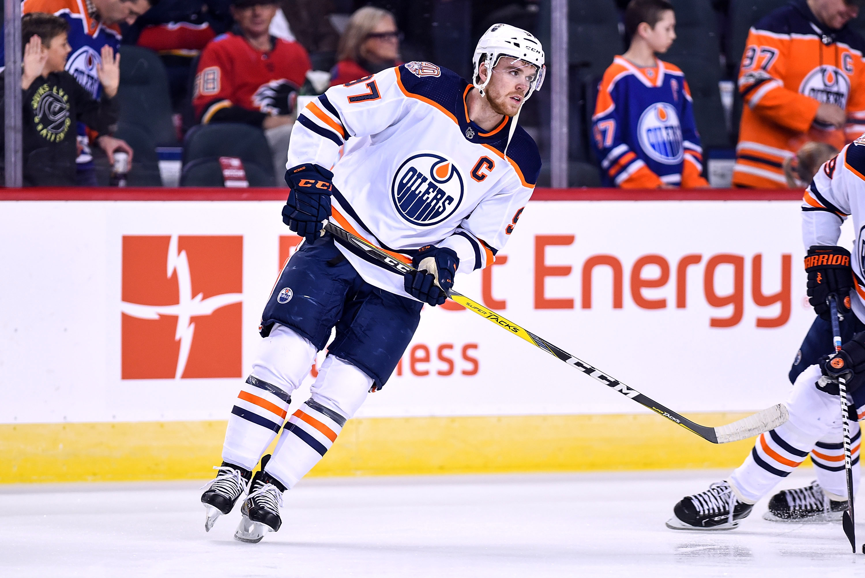NHL: APR 06 Oilers at Flames