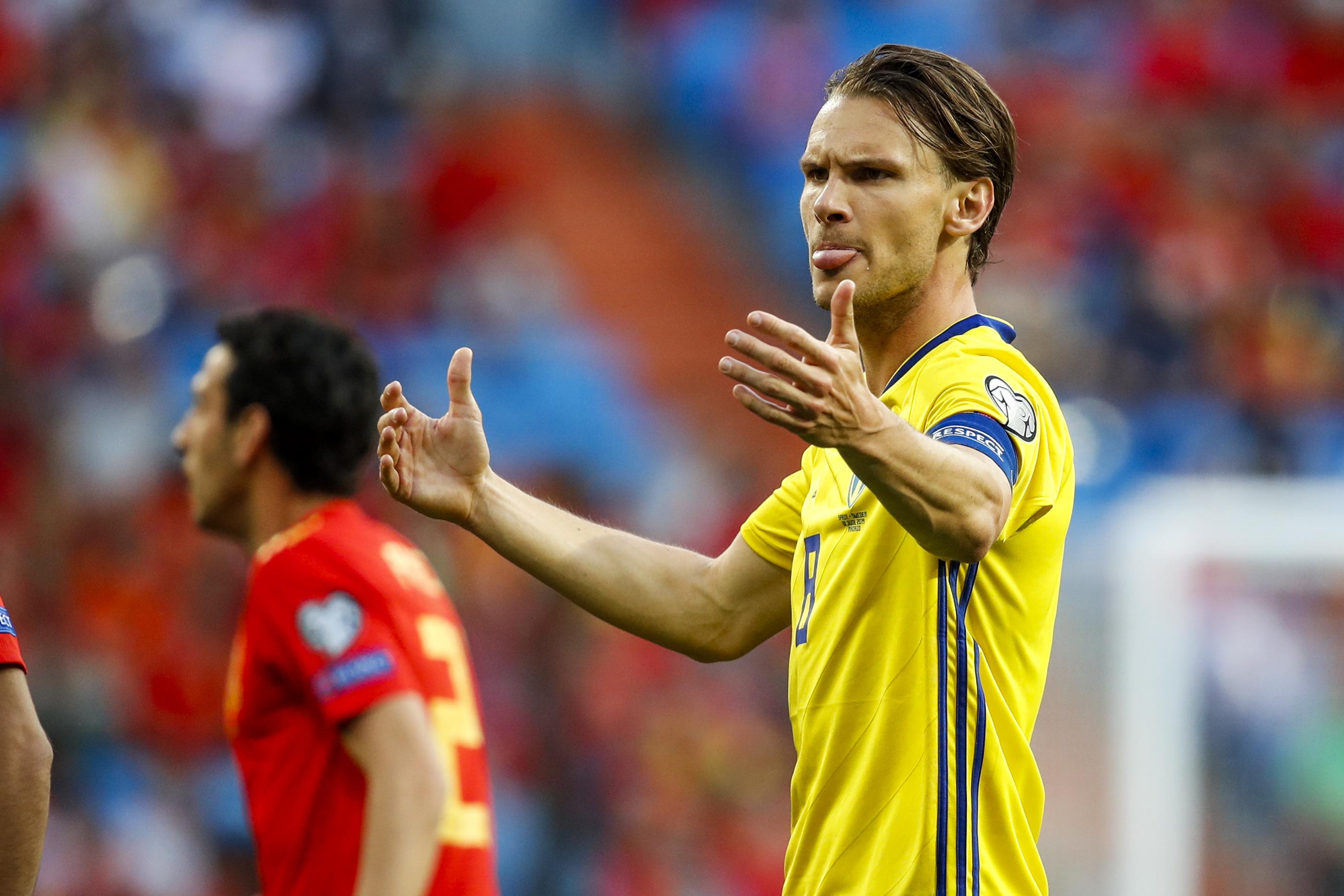 Spain v Sweden -EURO Qualifier