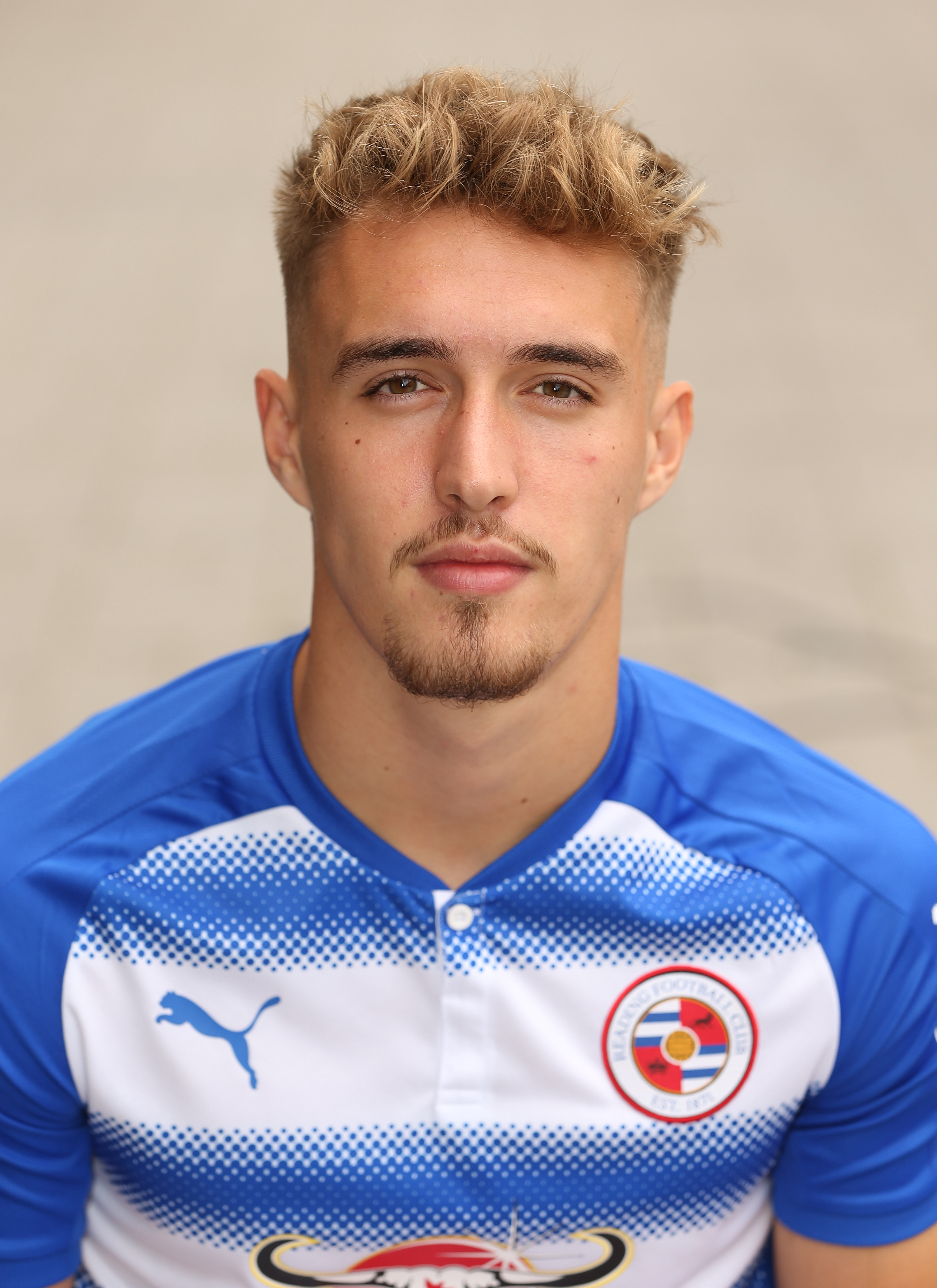 Reading Football Club Official Team Photograph and Head Shots