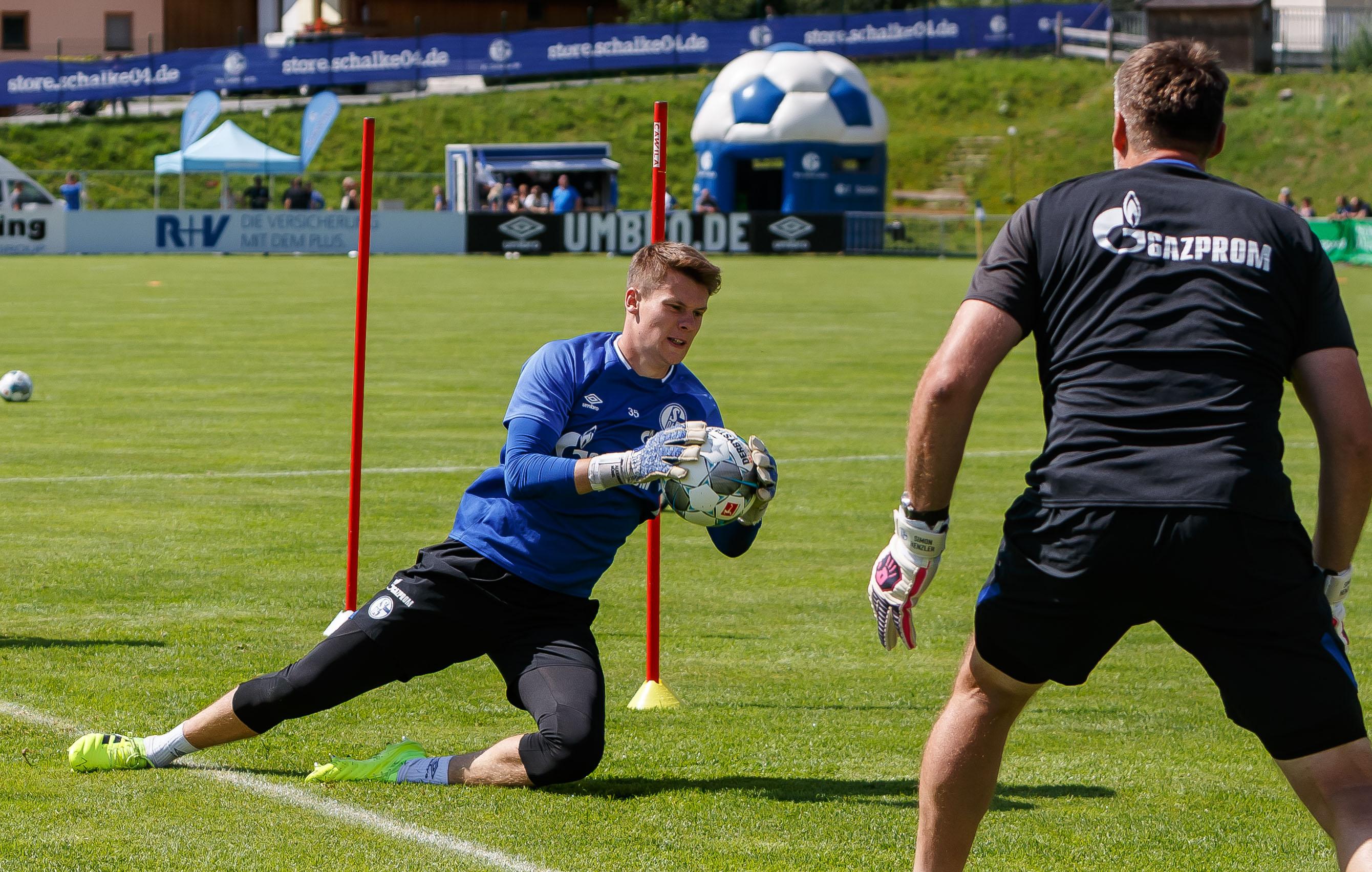 Schalke 04 Mittersill Training Camp