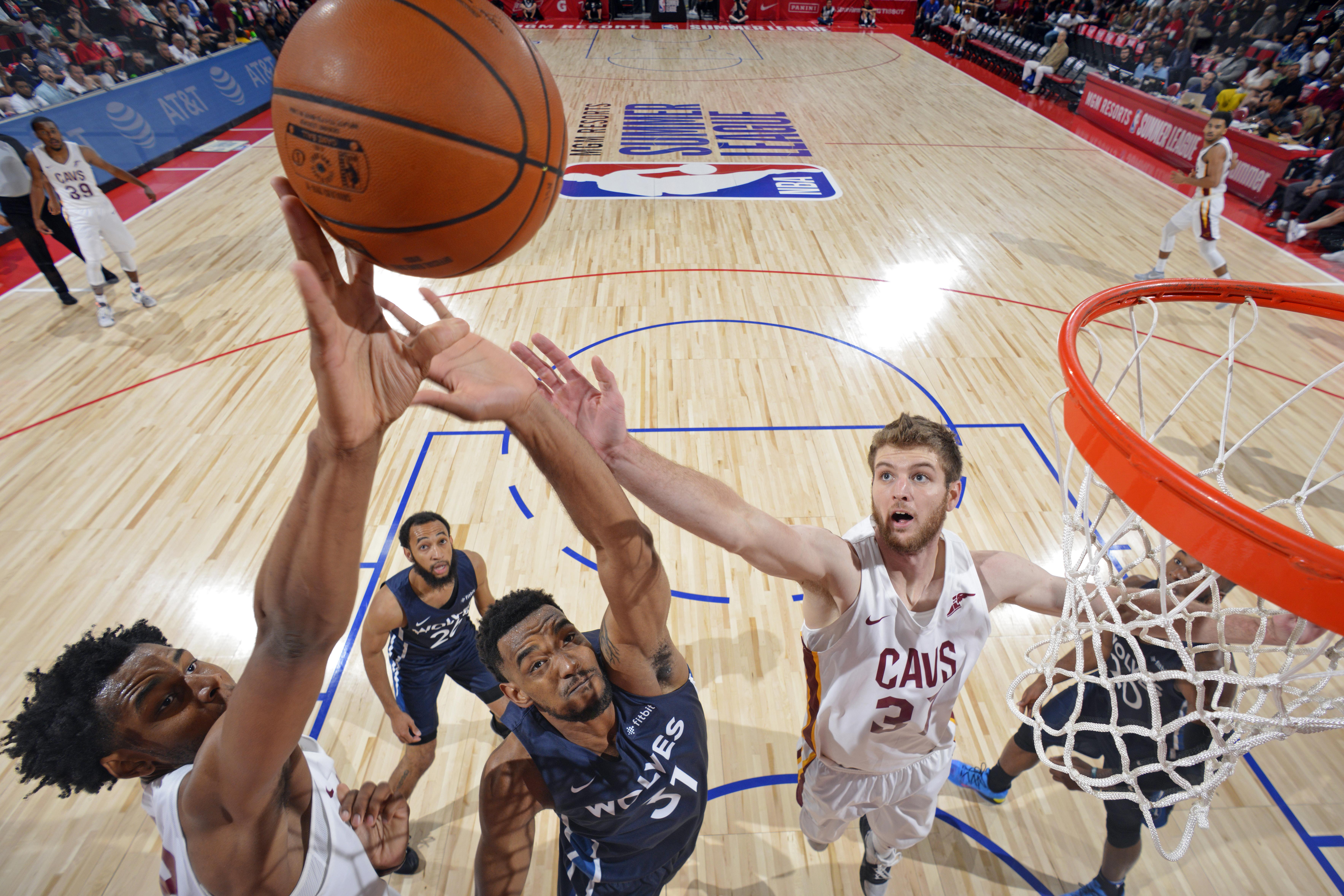 2019 Las Vegas Summer League - Day 1 - Minnesota Timberwolves v Cleveland Cavaliers