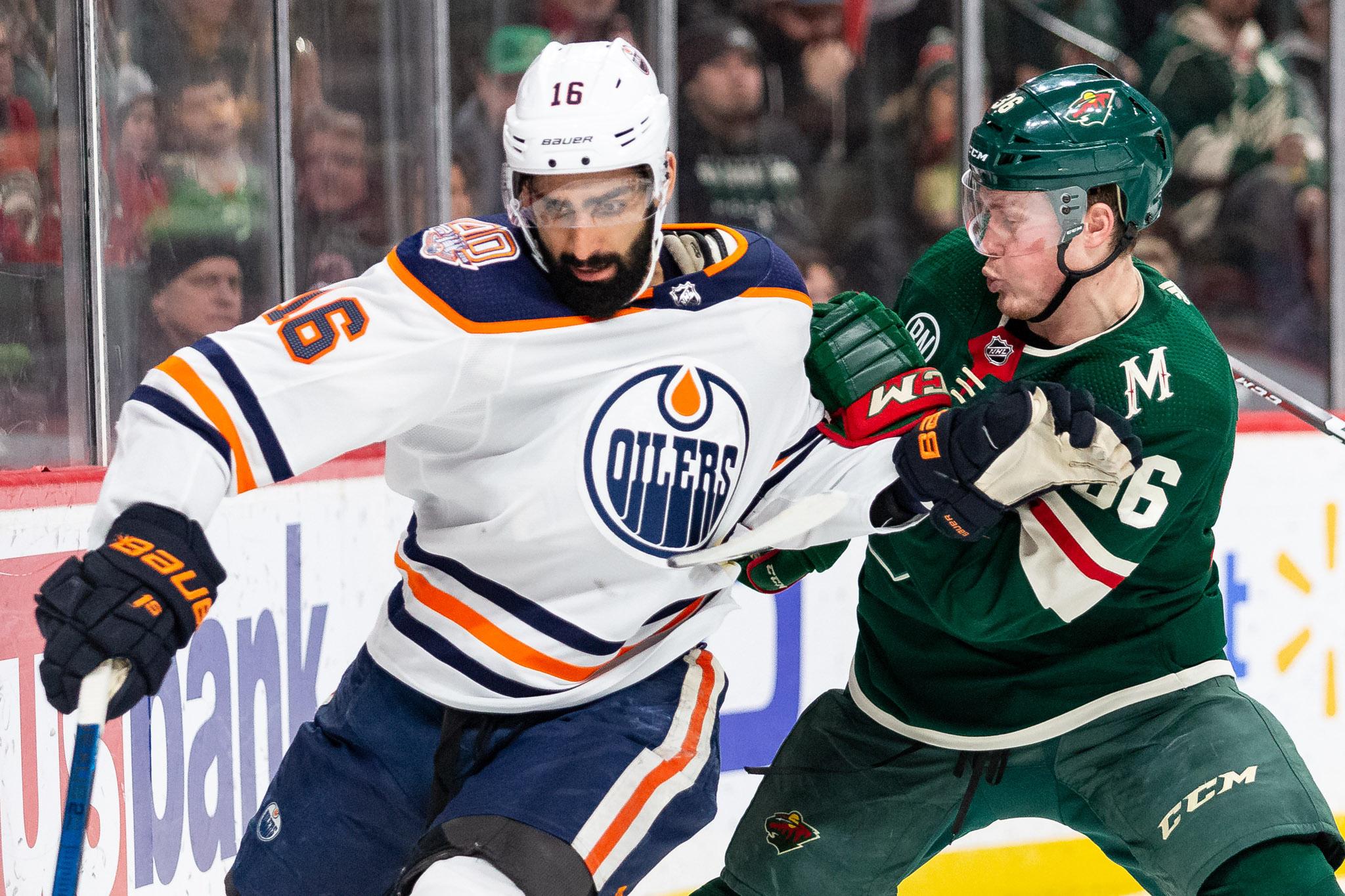 NHL: Edmonton Oilers at Minnesota Wild