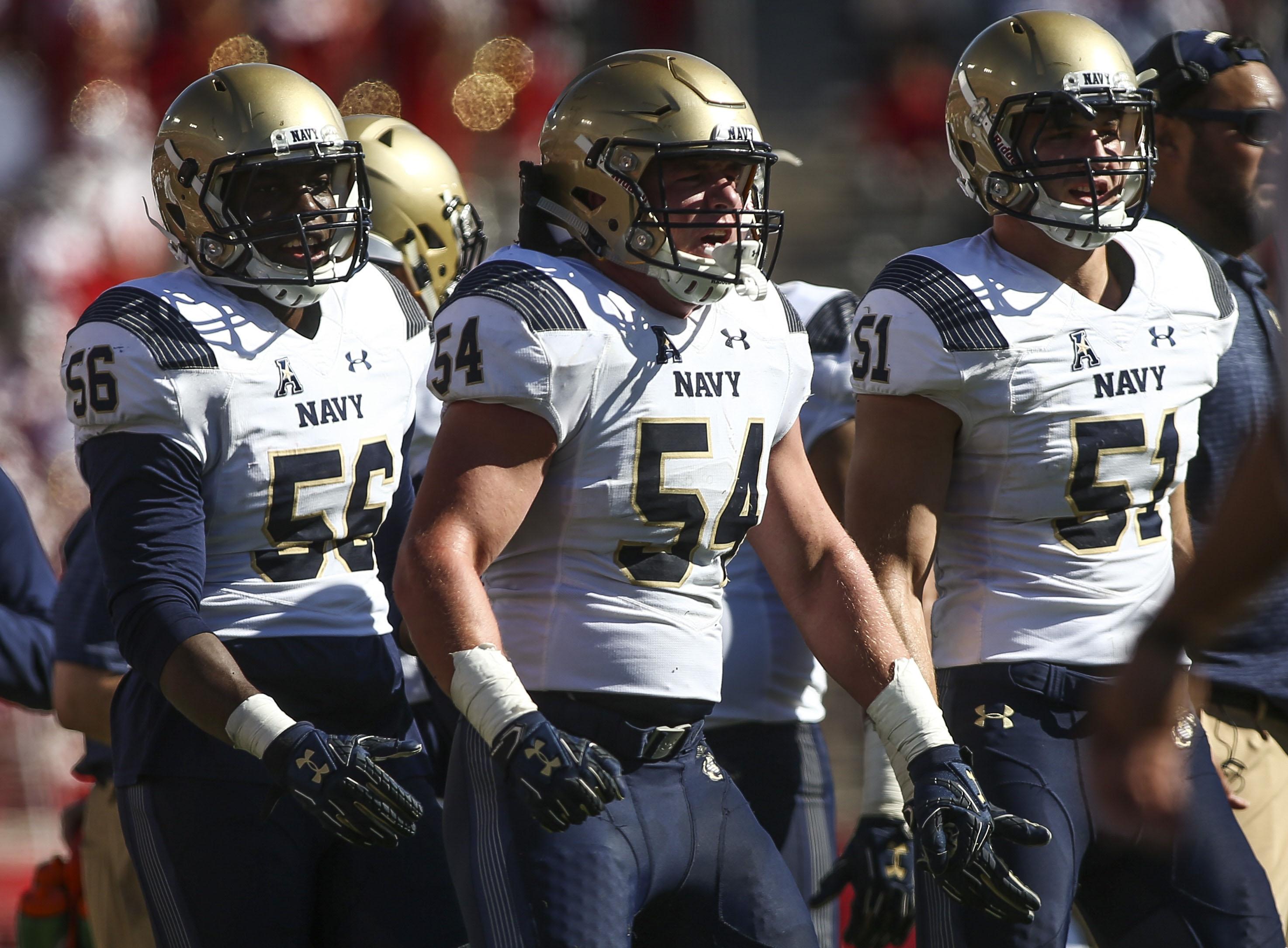 NCAA Football: Navy at Houston