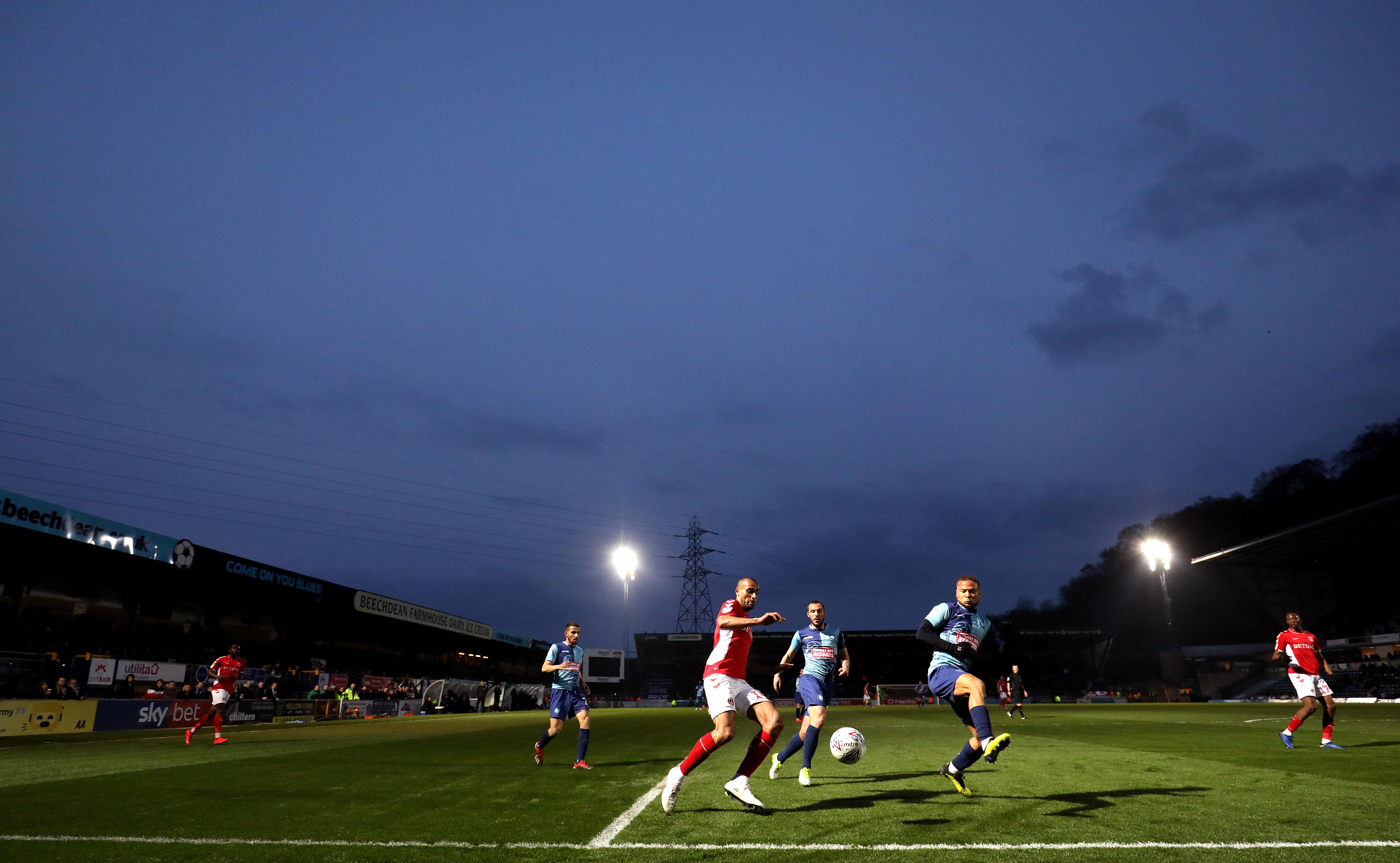 Wycombe Wanderers v Charlton Athletic - Sky Bet League One - Adams Park