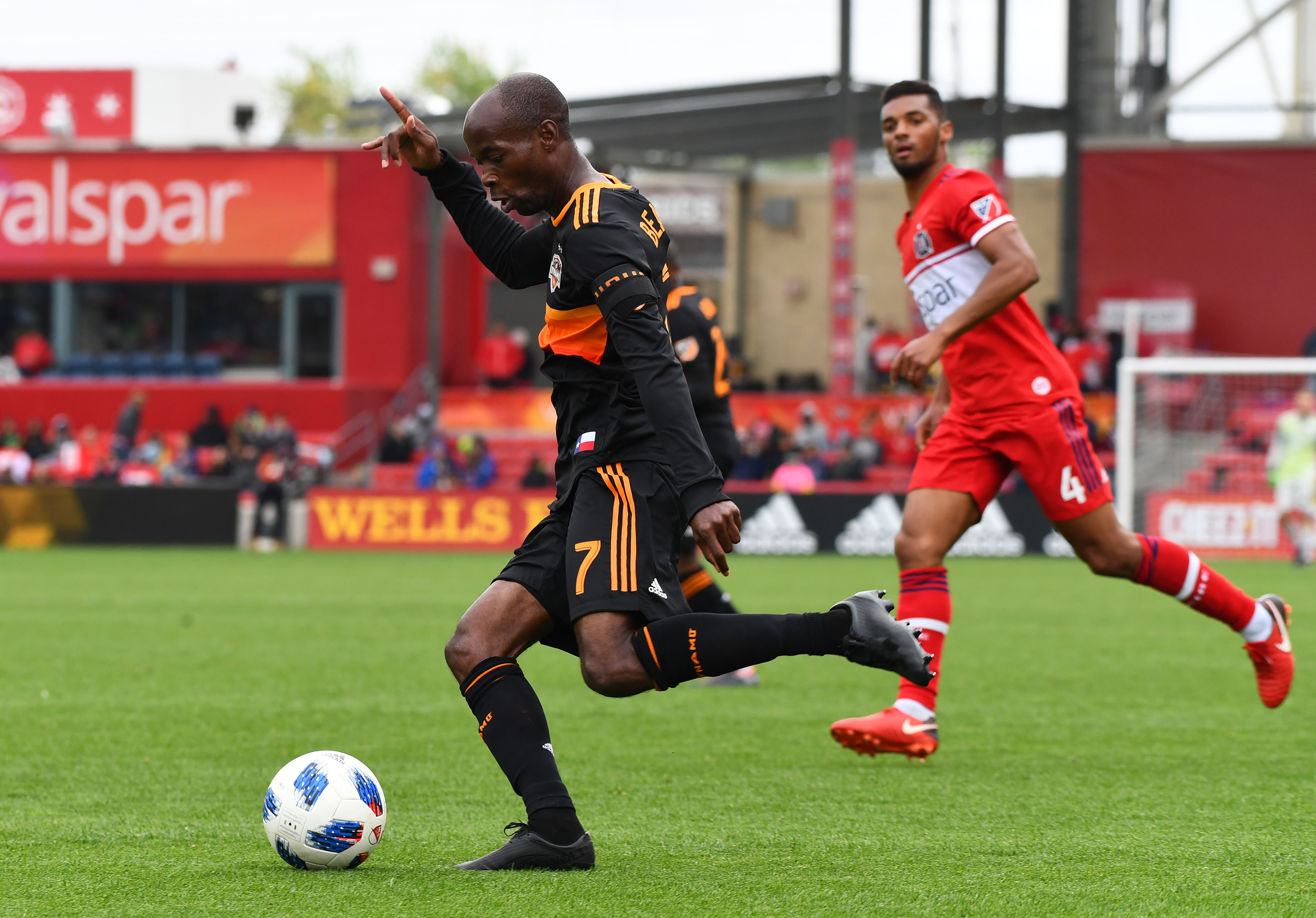 MLS: Houston Dynamo at Chicago Fire