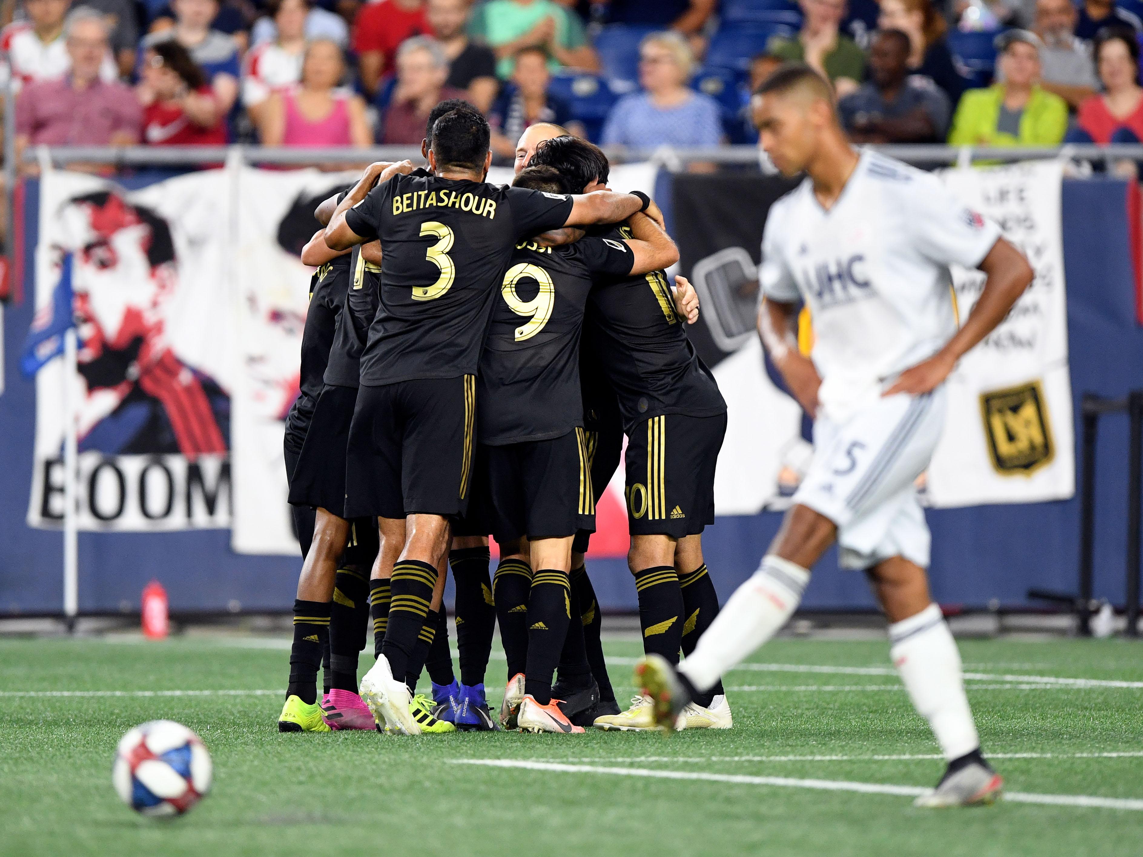 MLS: Los Angeles FC at New England Revolution