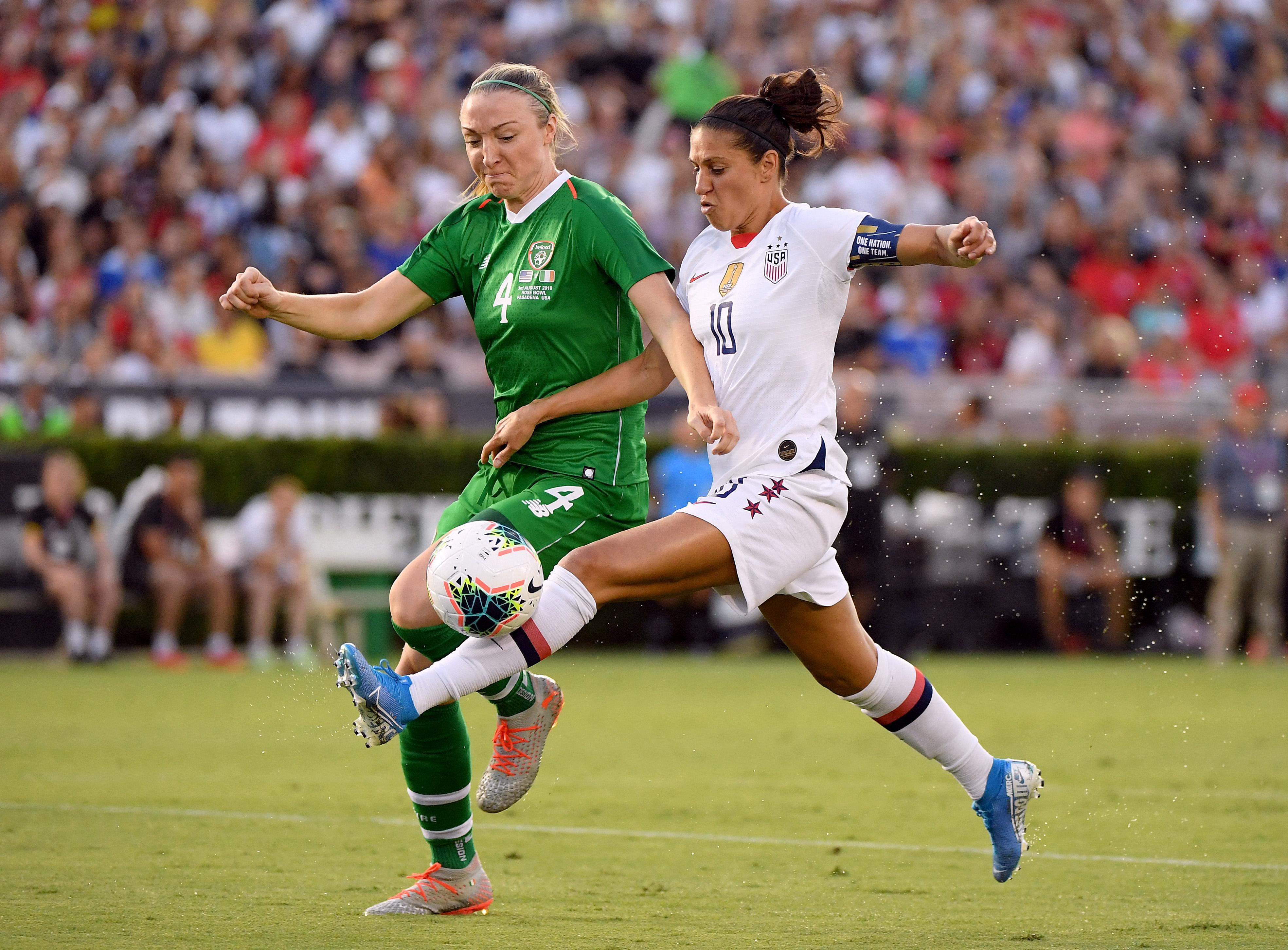Ireland v United States - USWNT Victory Tour