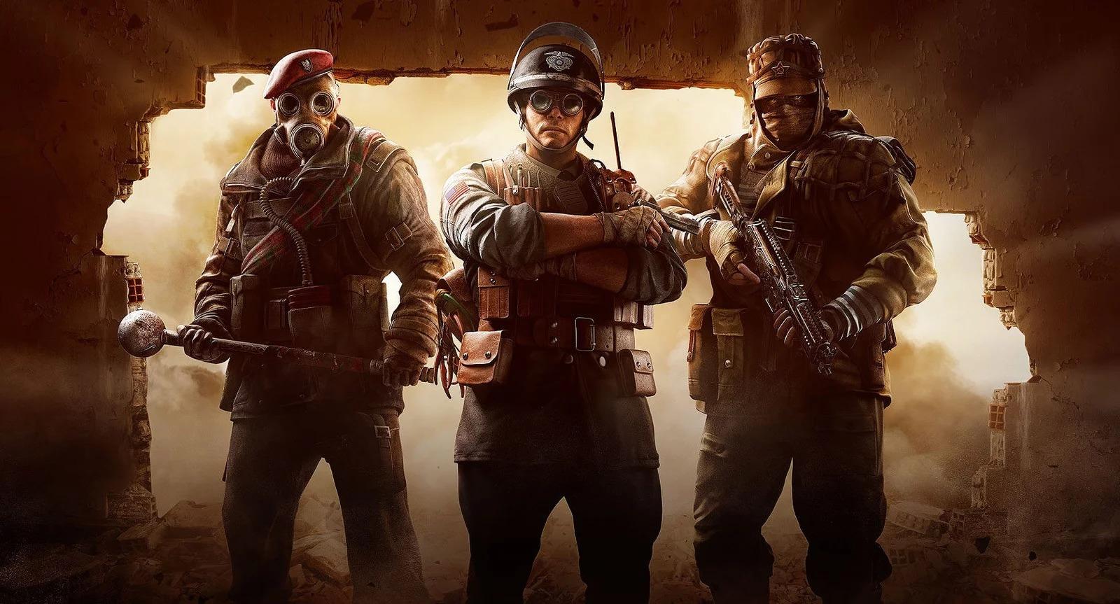 Rainbow Six Siege's newest operators look like Indiana Jones characters