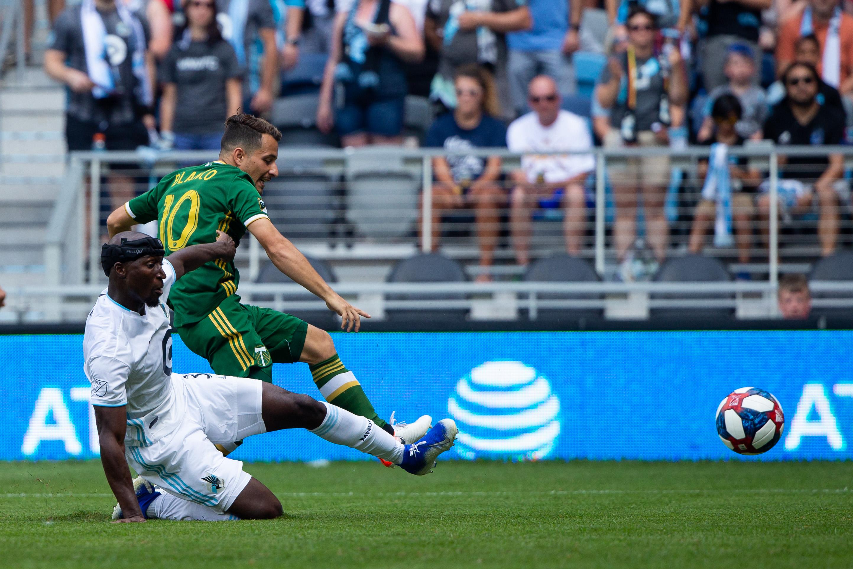 MLS: Portland Timbers at Minnesota United FC
