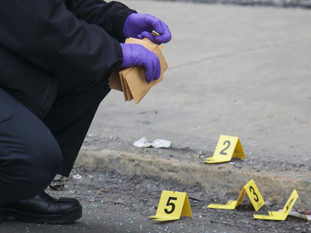 Two people were shot in Englewood