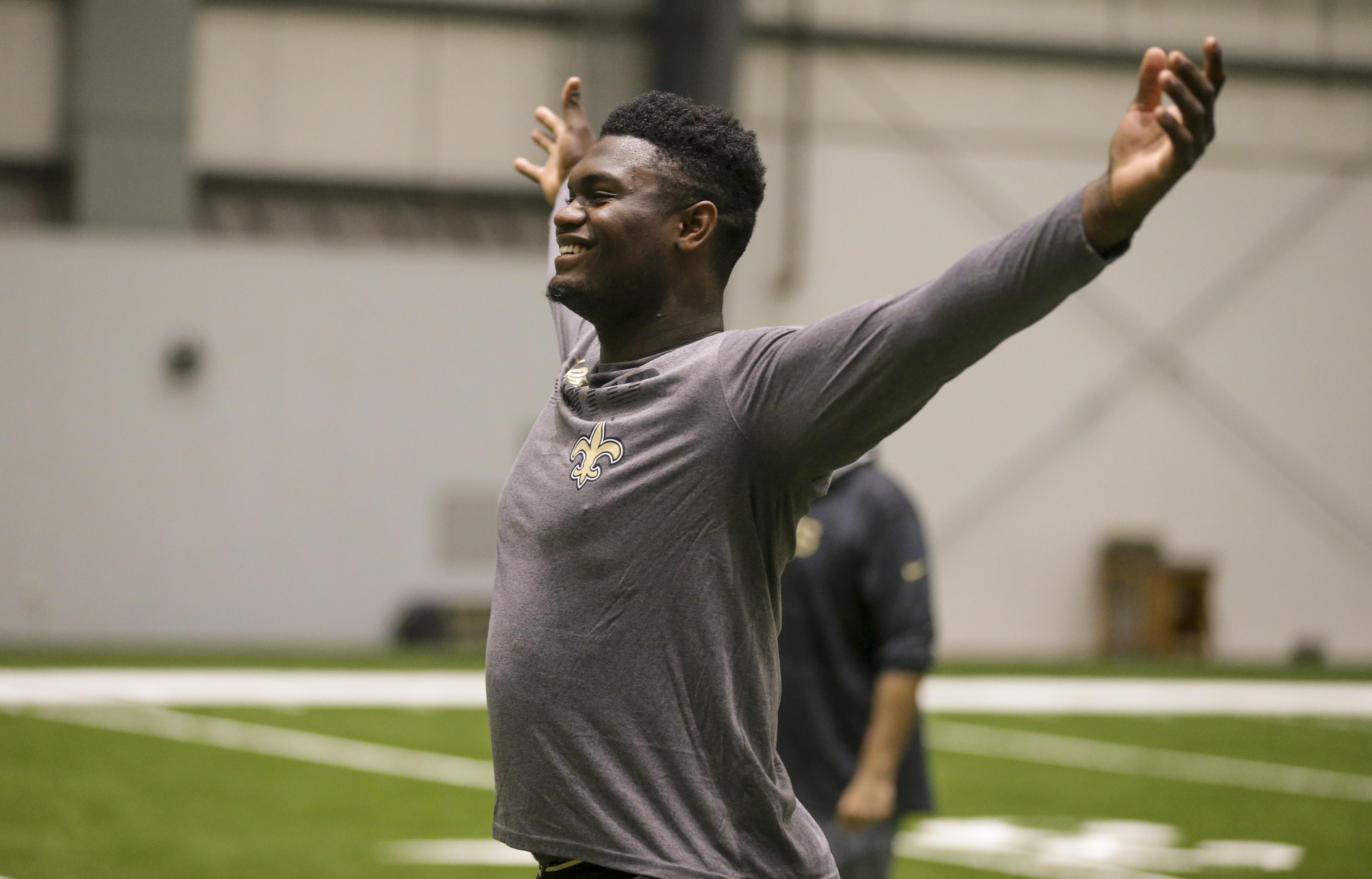 New Orleans Pelicans player joins Saints Quarterback Competition