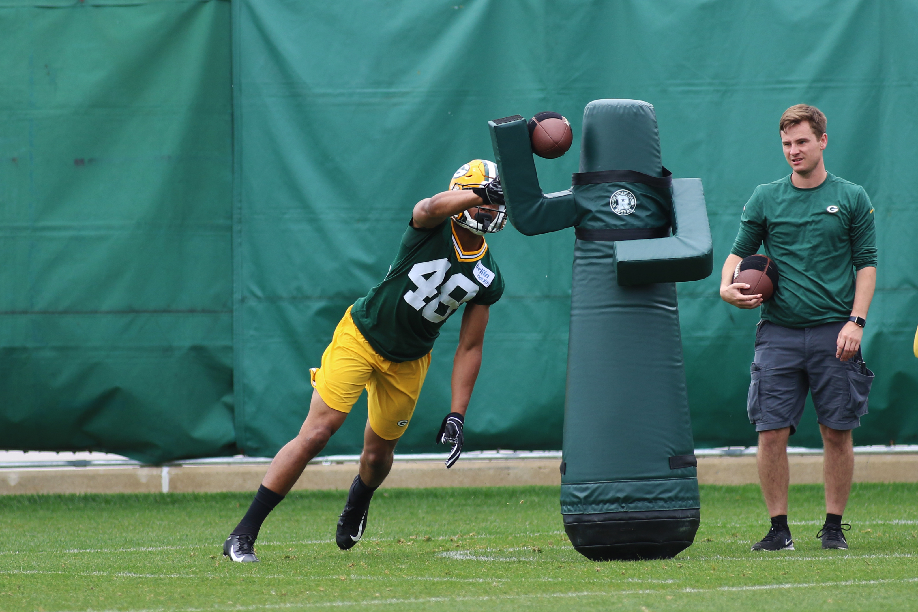NFL: MAY 29 Green Bay Packers OTA