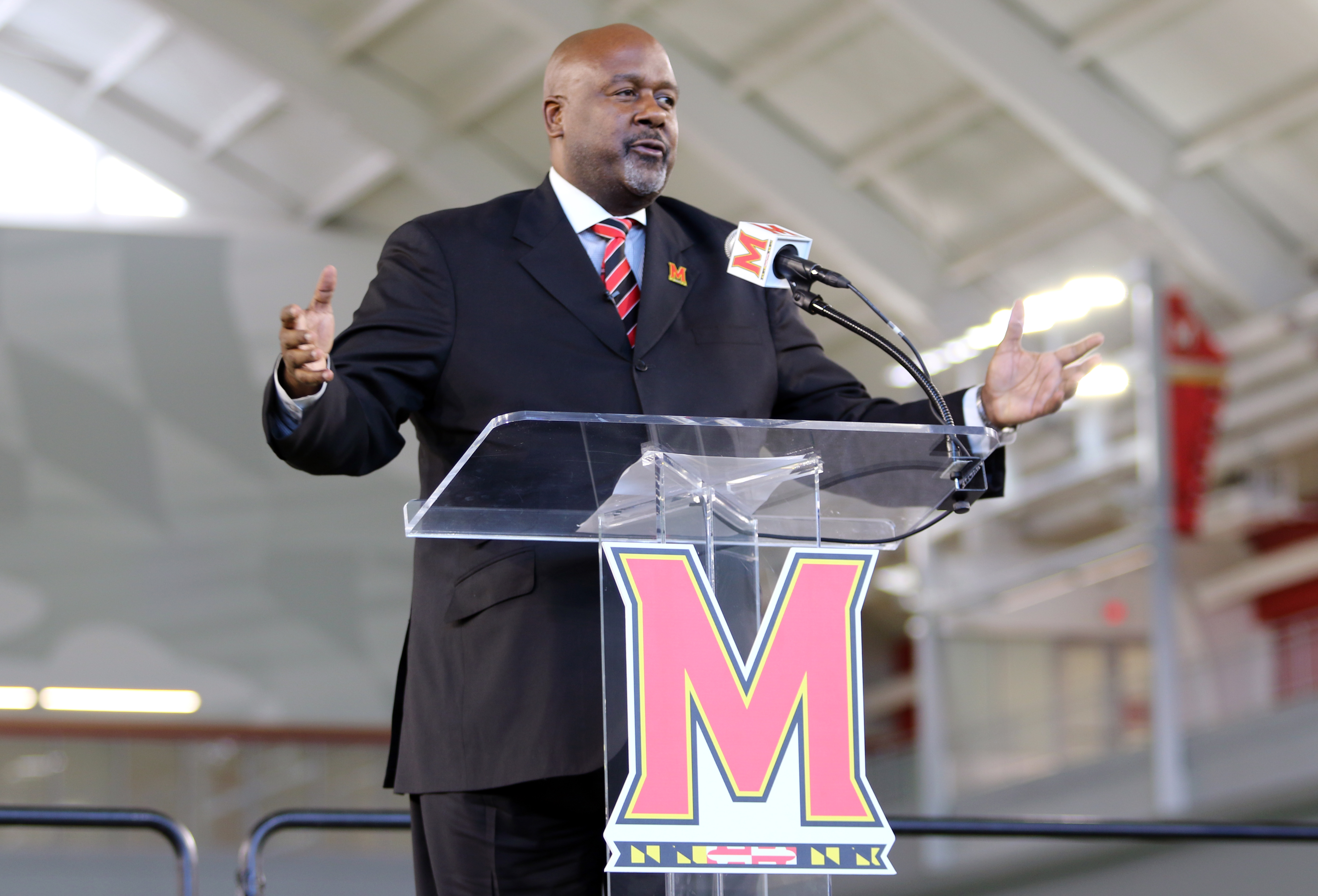 Mike Locksley Maryland football press conference