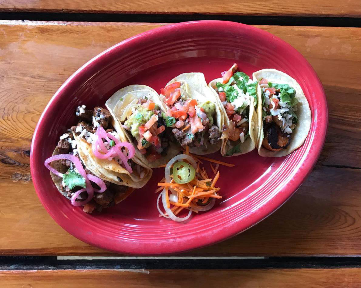 Tacos from Red's Porch