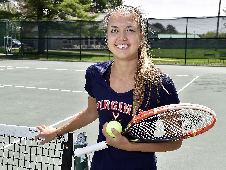 Meghan Kelley, standout tennis player