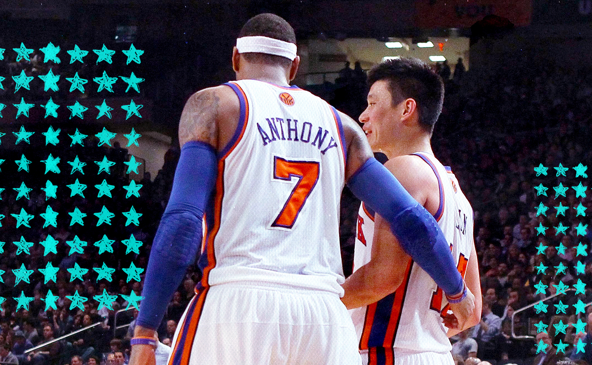 Have some sympathy for Carmelo Anthony and Jeremy Lin