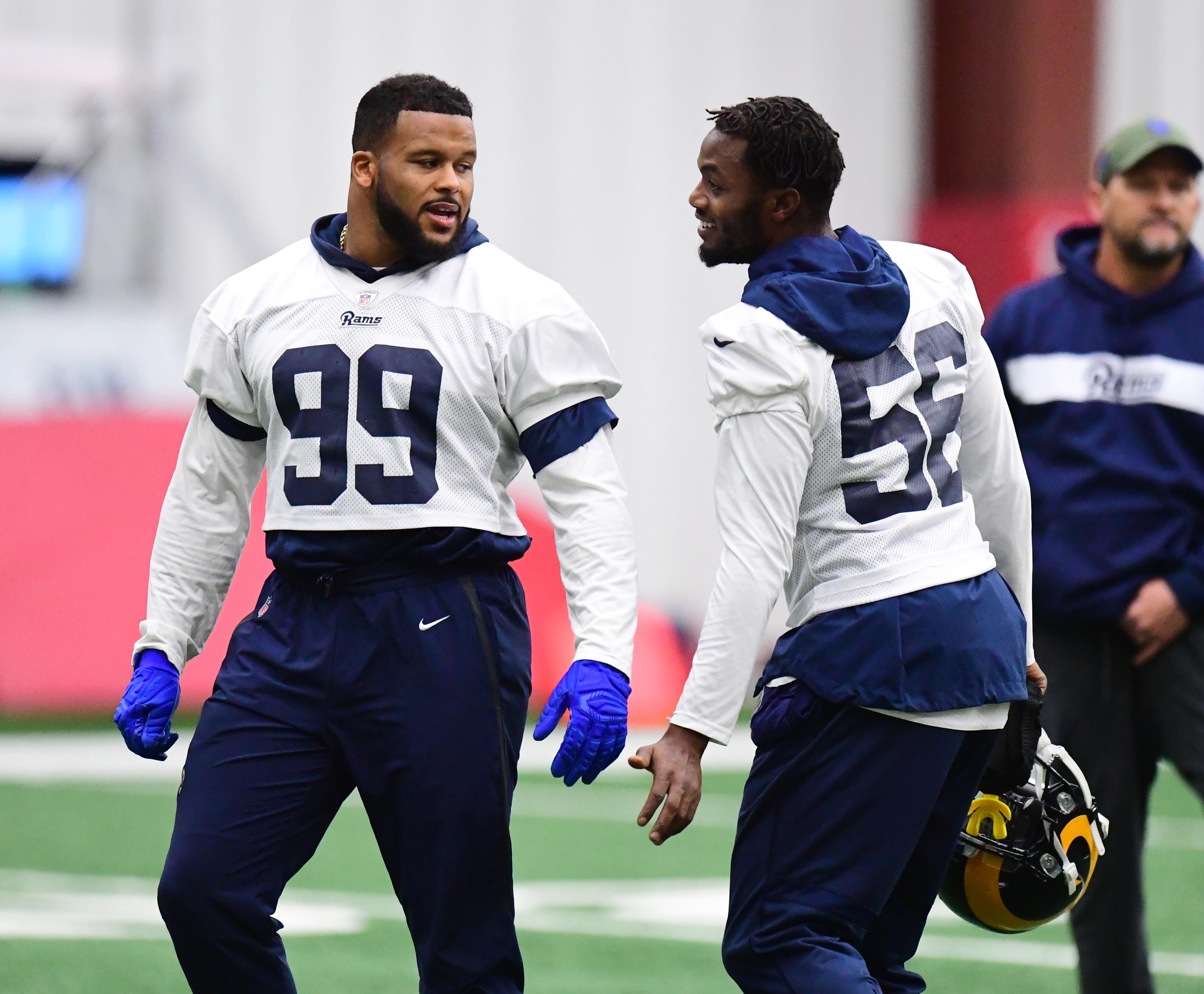 Super Bowl LIII - Los Angeles Rams Practice