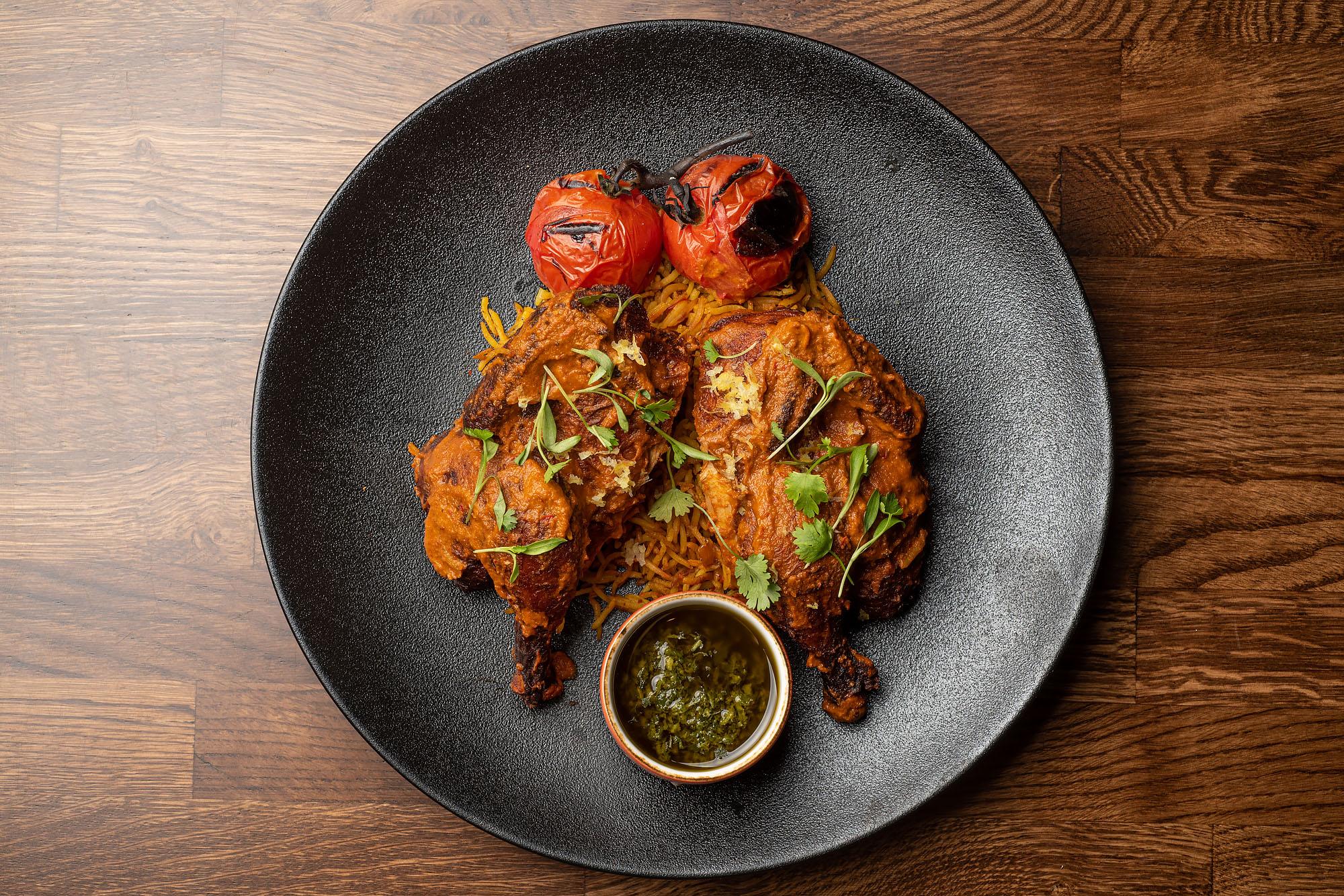 Mixtape cornish hen on plate