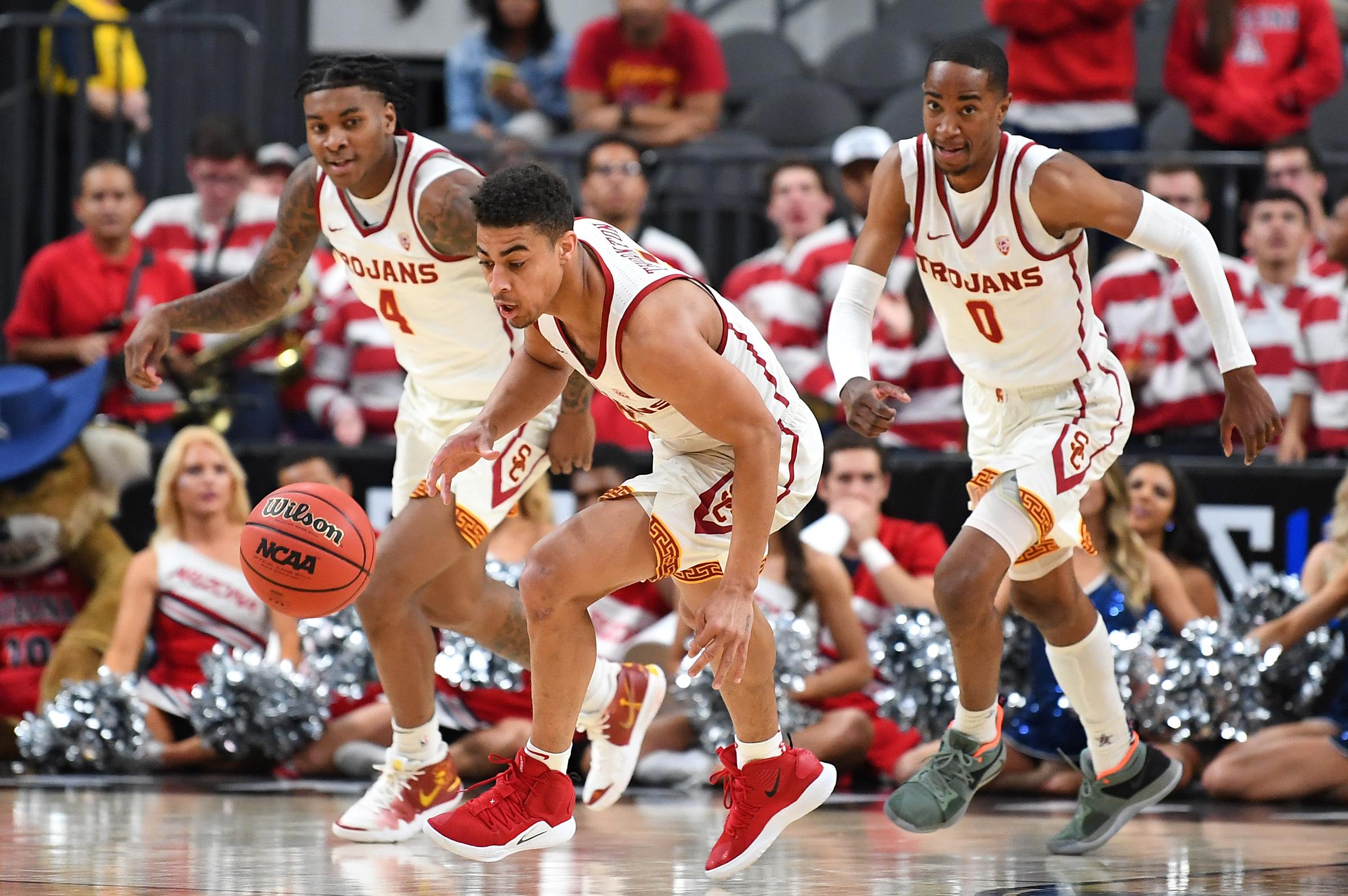 NCAA Basketball: Pac-12 Conference Tournament-Arizona vs USC