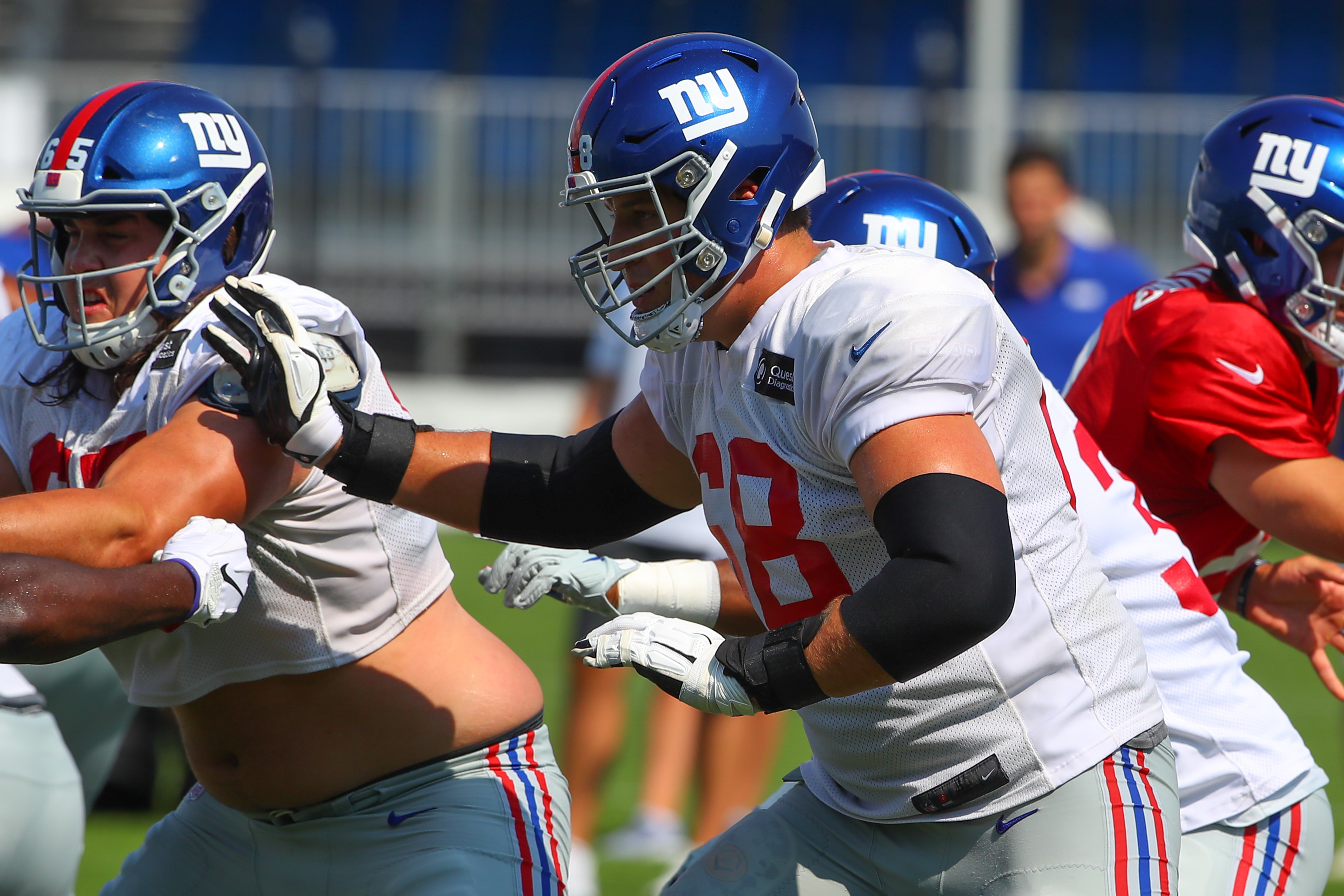 NFL: AUG 03 Giants Training Camp
