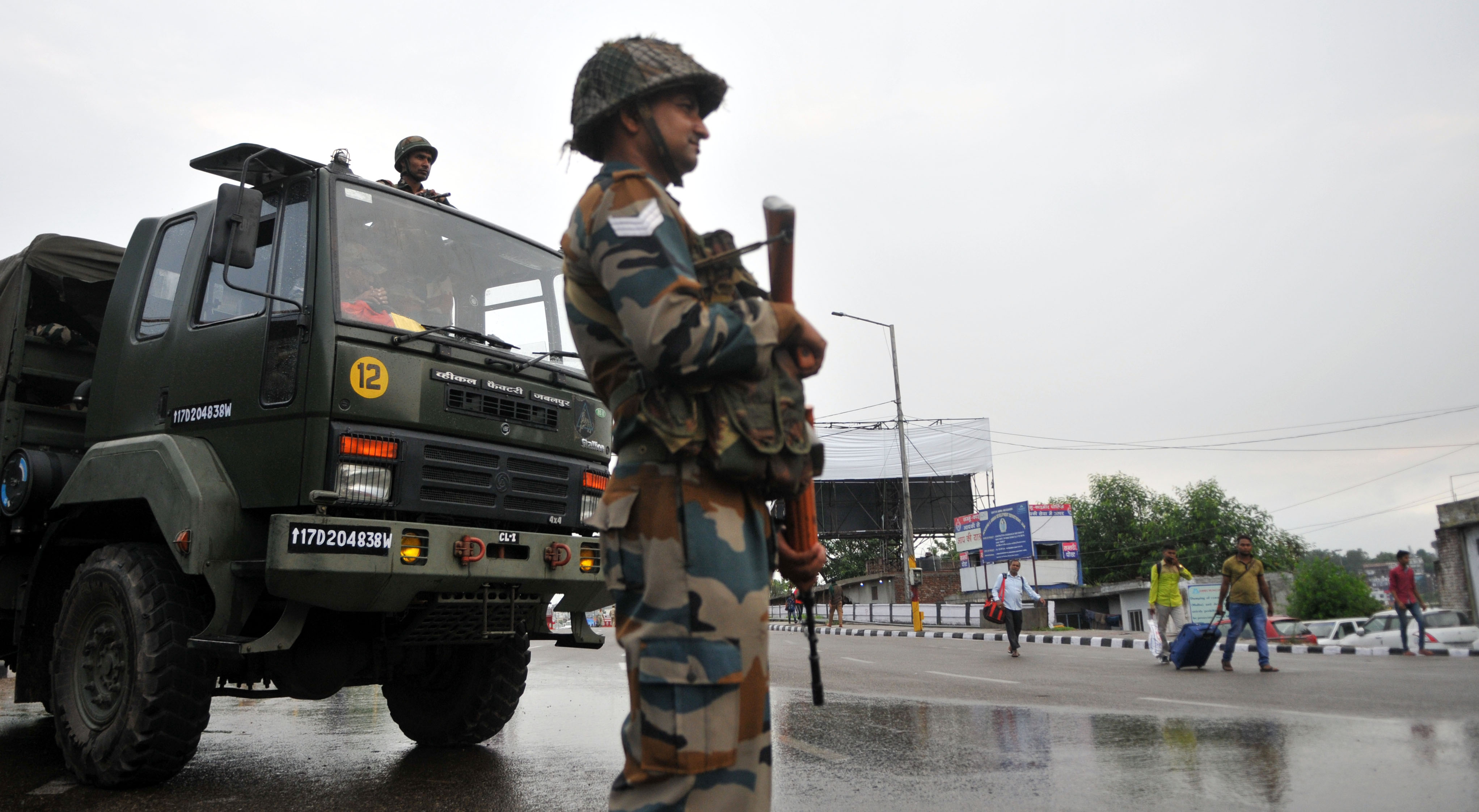 Extra troops are in India-administered Kashmir to quell potential unrest after New Delhi moved to strip the region of many of its autonomies.