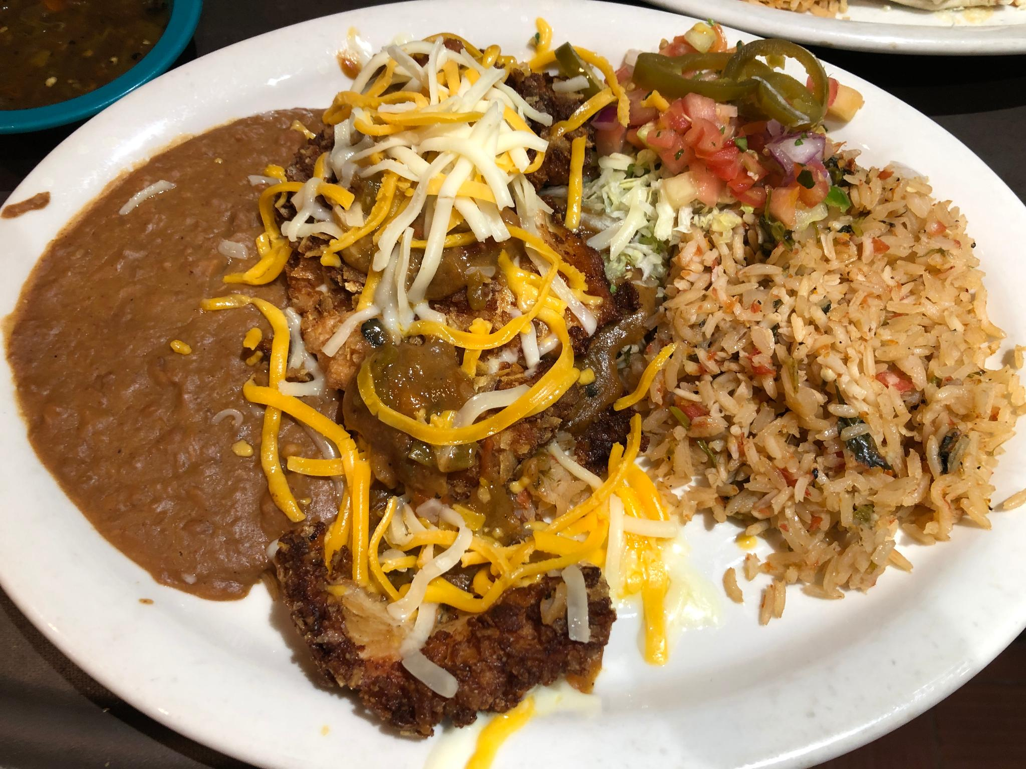 A Tex-Mex dish from Chuy's
