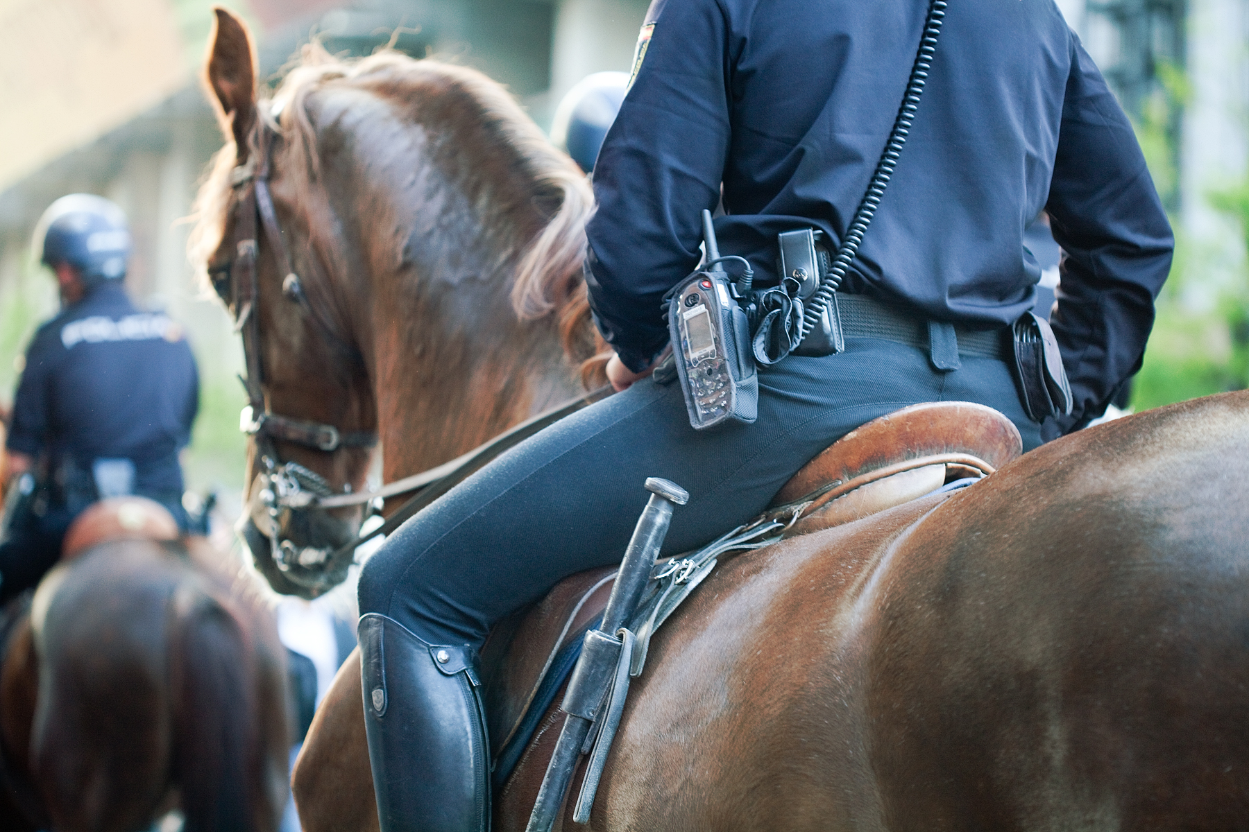 """""""This is 2019 and not 1819"""": mounted police leading a black man by a rope sparks outrage"""