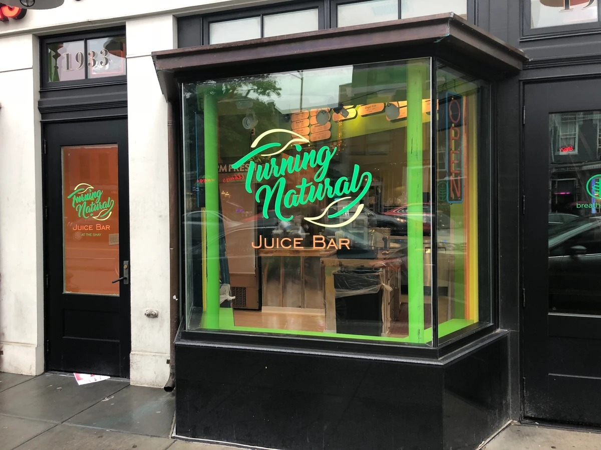Turning Natural's Shaw storefront.