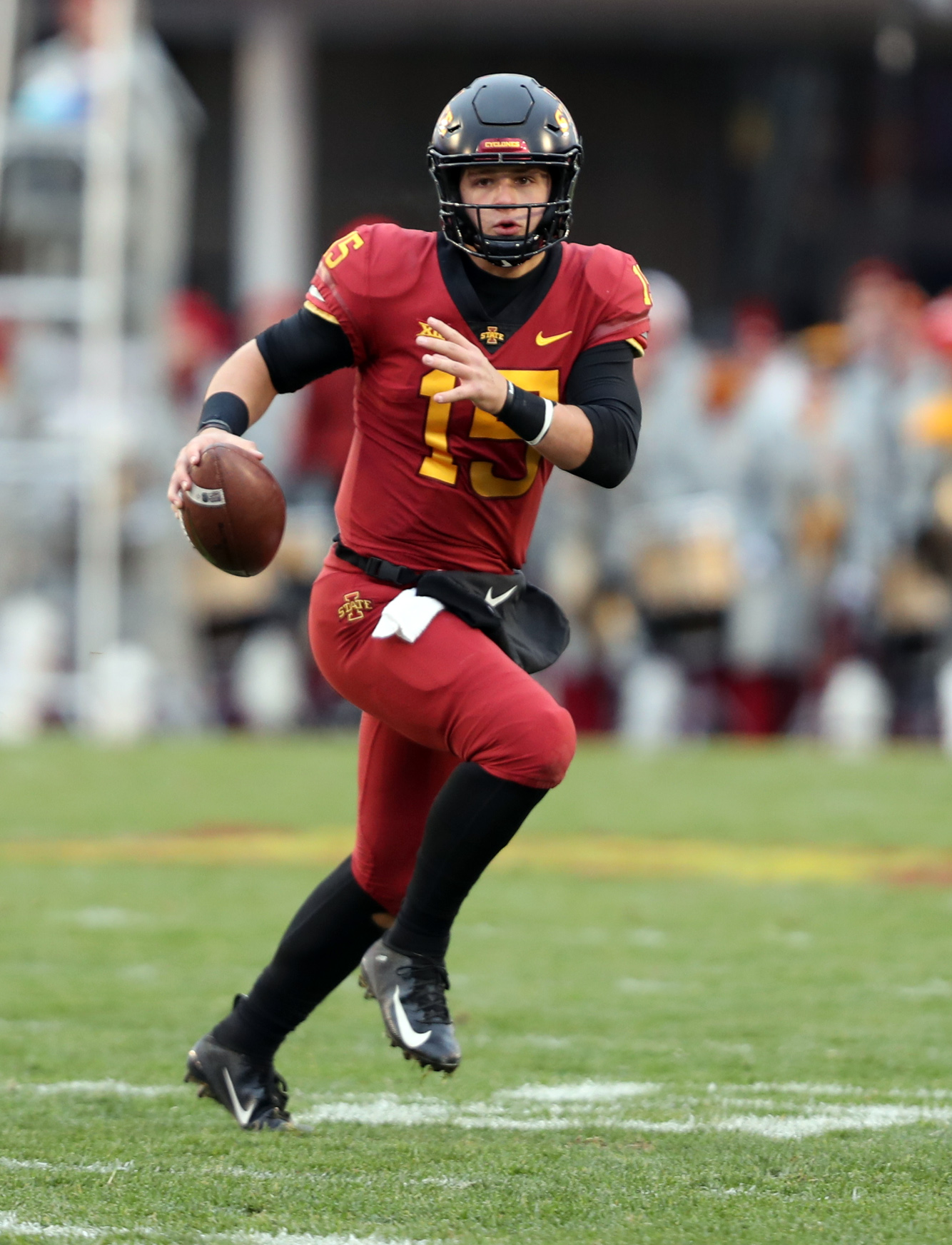 NCAA Football: Baylor at Iowa State