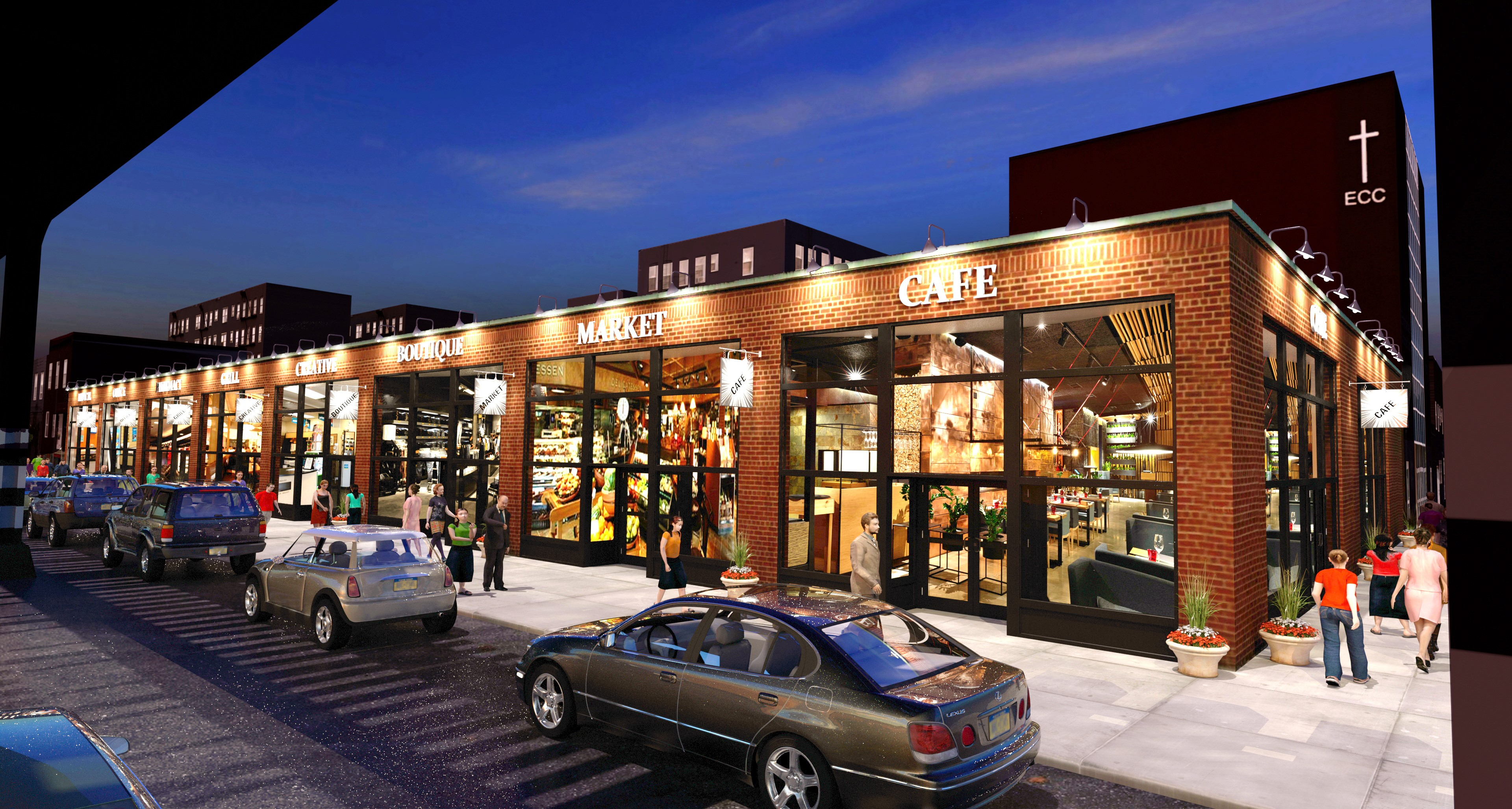 Astoria's International Food Hall Arrives This Fall With Nearly a Dozen New Restaurants