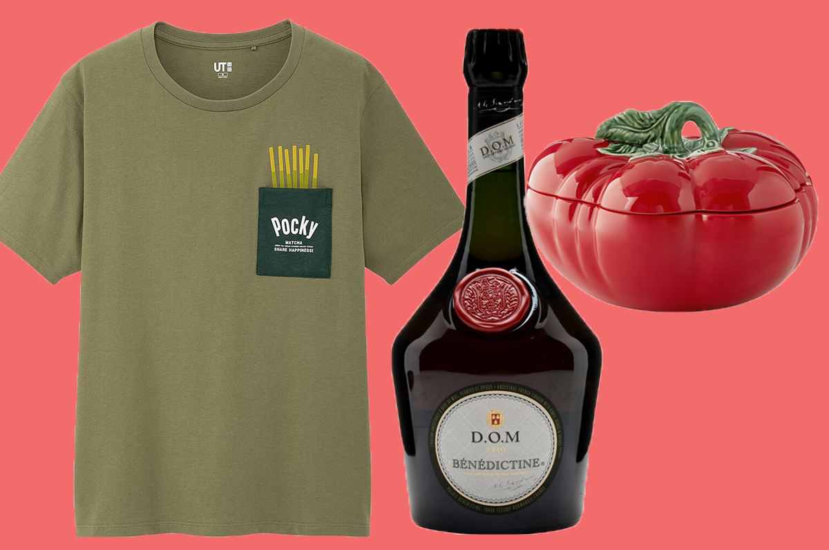 A Pocky T-Shirt, a Charming Tomato Dish, and More Things to Buy This Week
