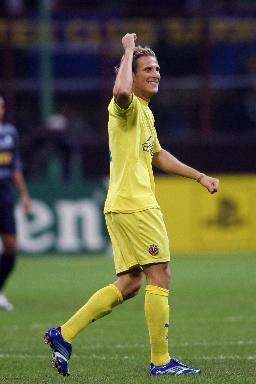 Soccer - UEFA Champions League - Quarter Final - First Leg - Inter Milan v Villarreal - Giuseppe Meazza