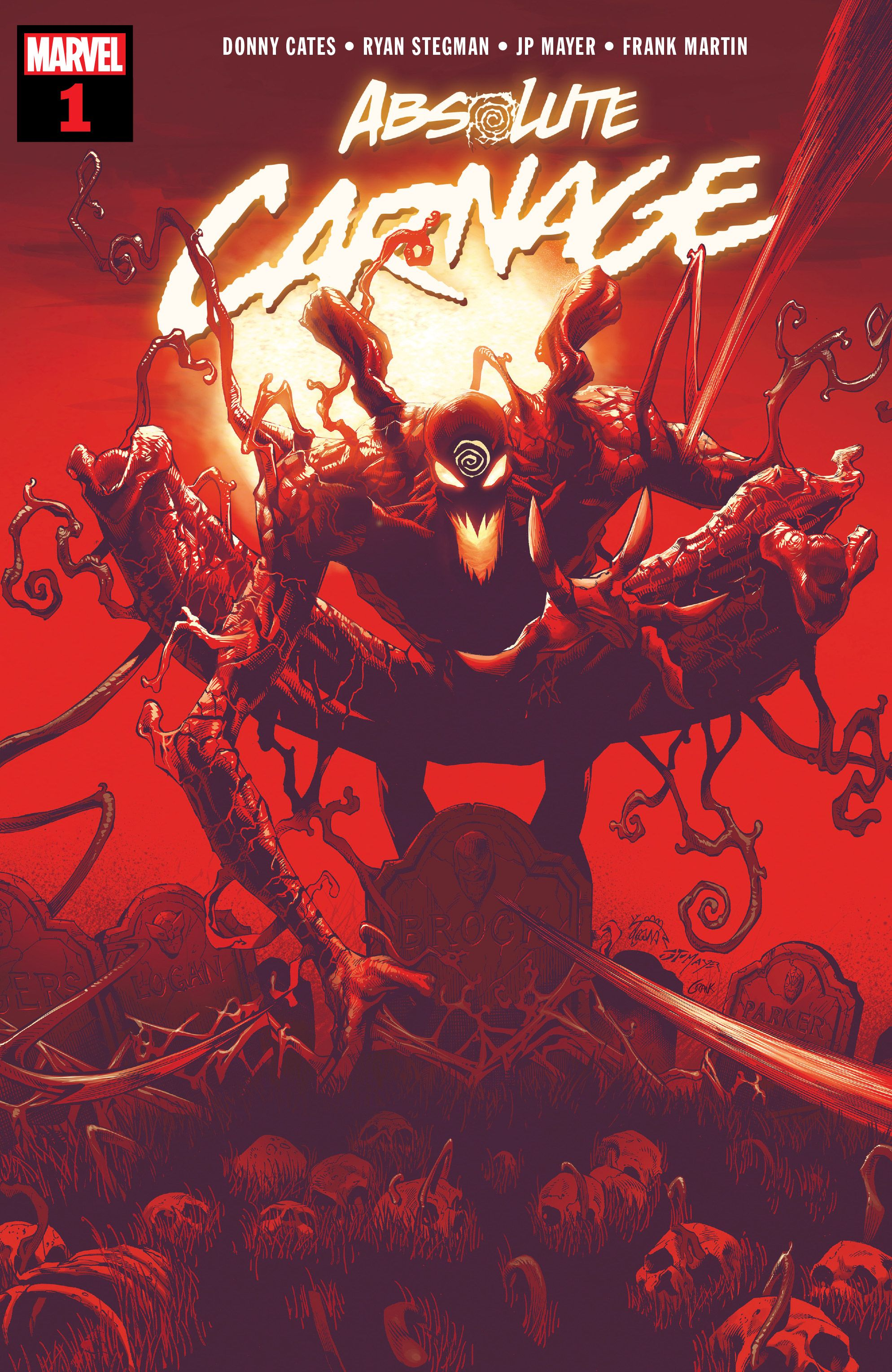 Carnage is trying to eat everyone in Marvel Comics, and only Venom can stop him