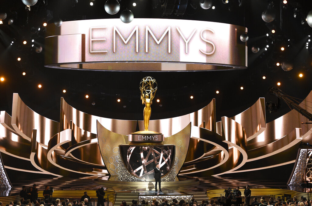 Stage of the Emmys in Los Angeles